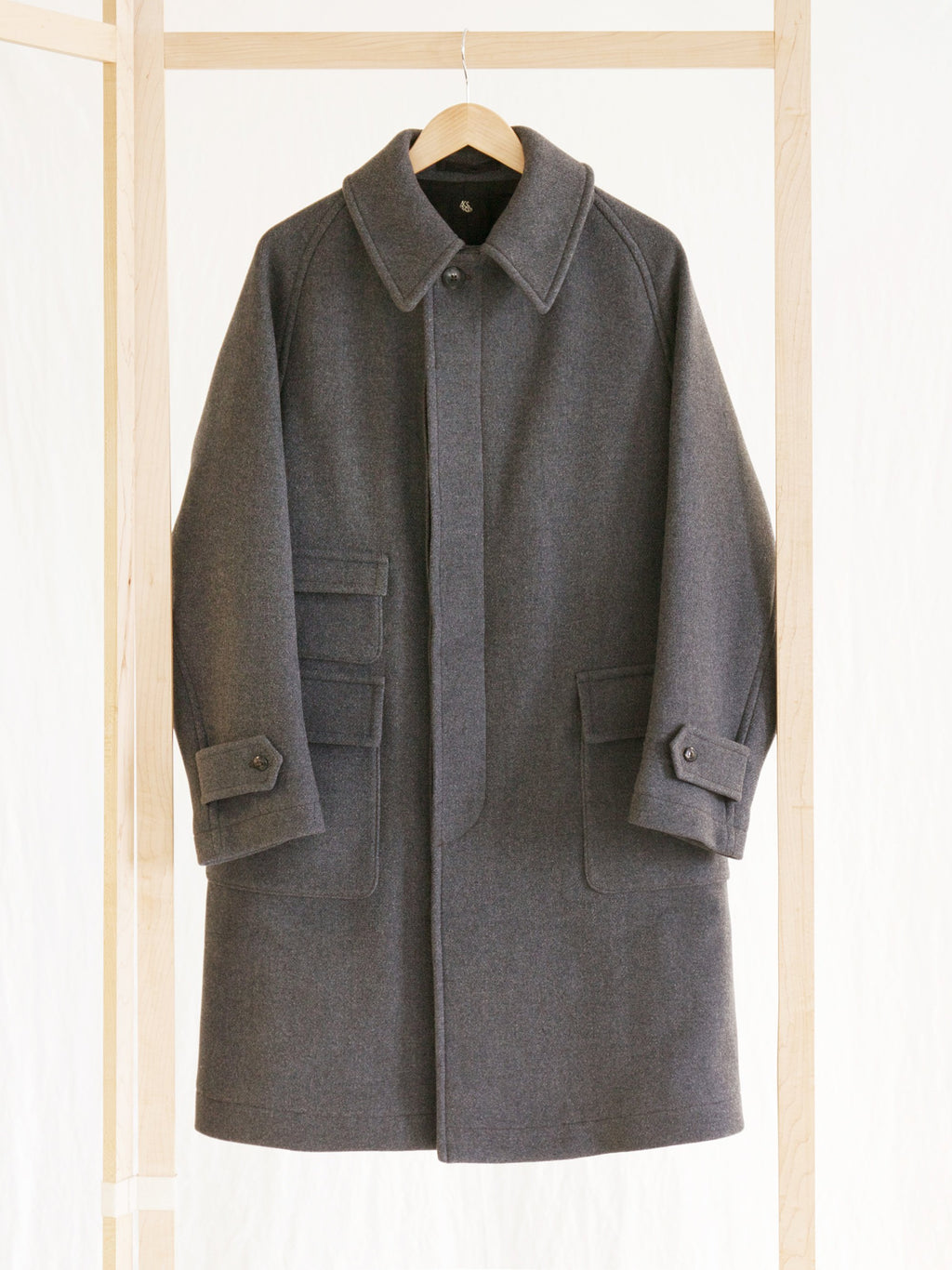 Namu Shop - Kaptain Sunshine Traveller Coat - Gray
