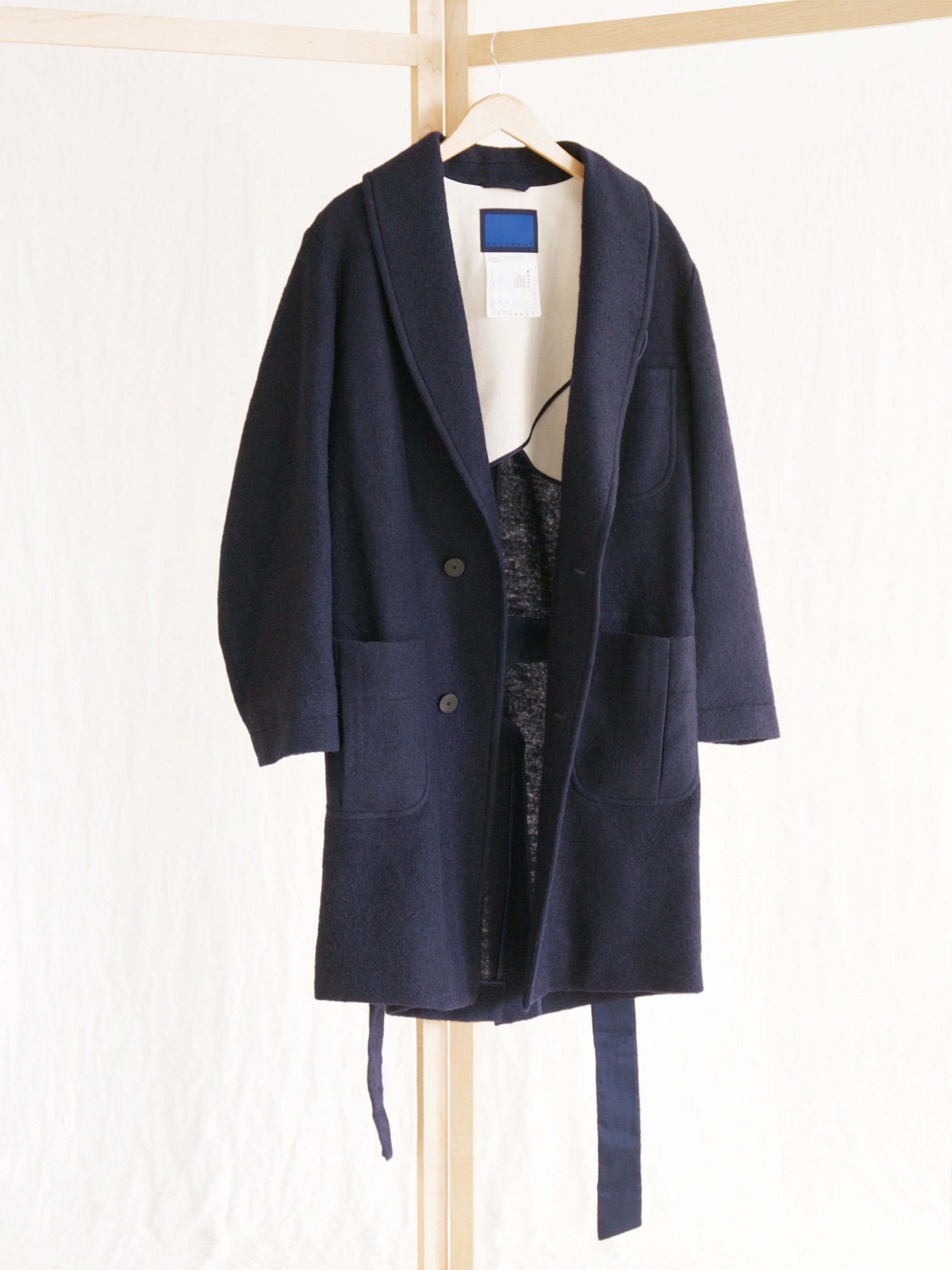 Namu Shop - Document The Document Signature Robe Coat