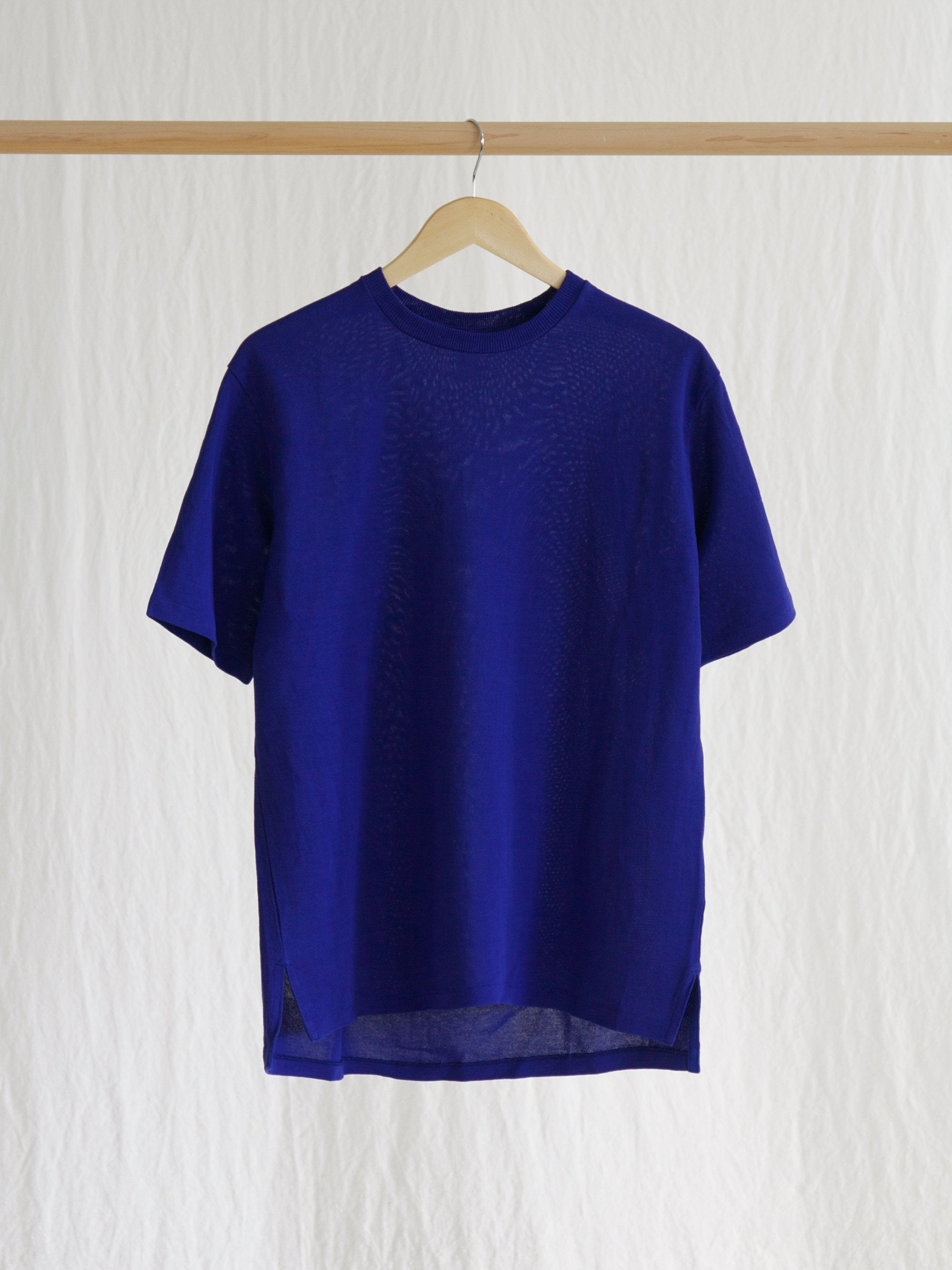 Paper Crewneck Big Tee - Blue
