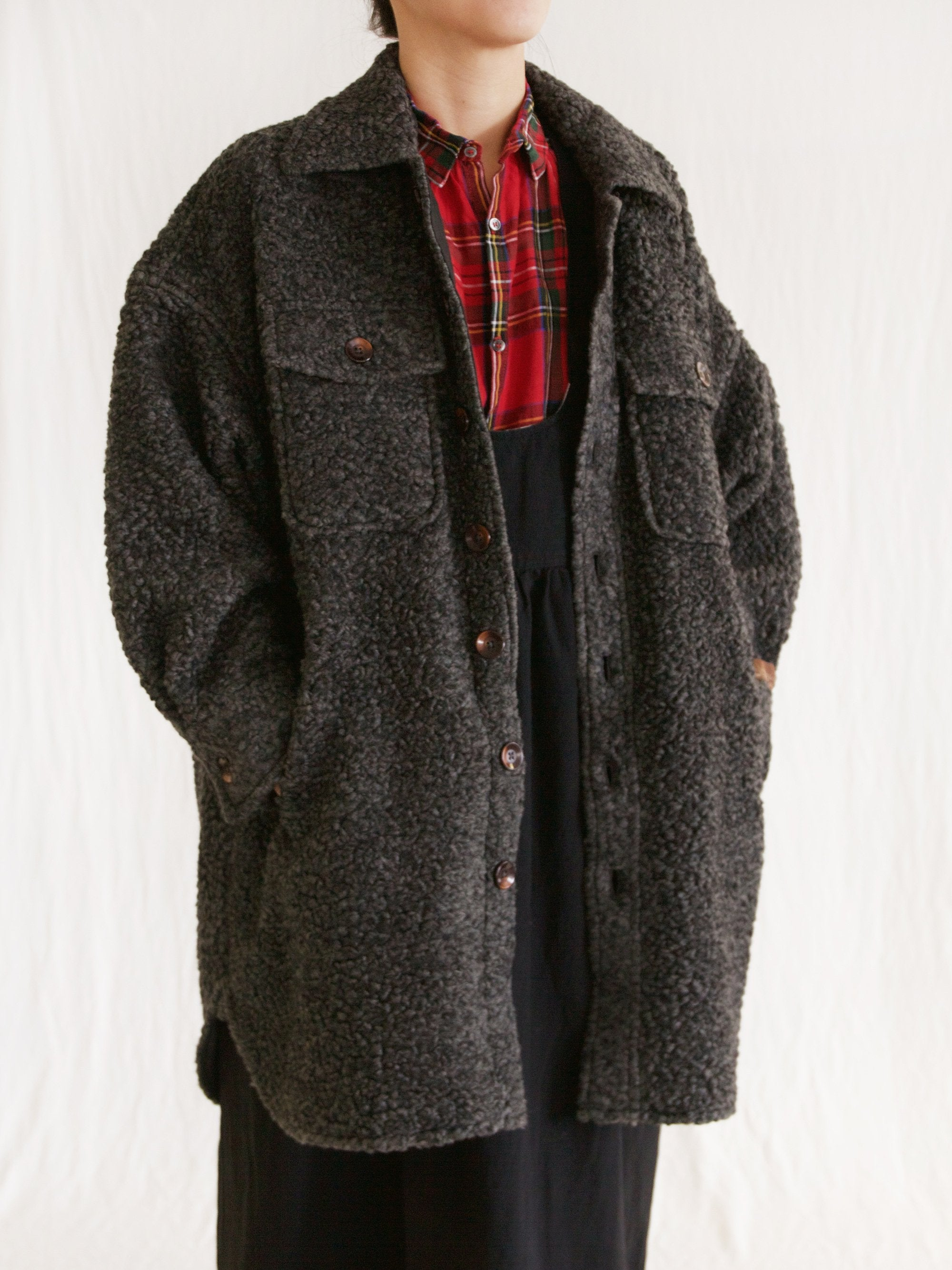 Namu Shop - Ichi Antiquites Teddy Coat