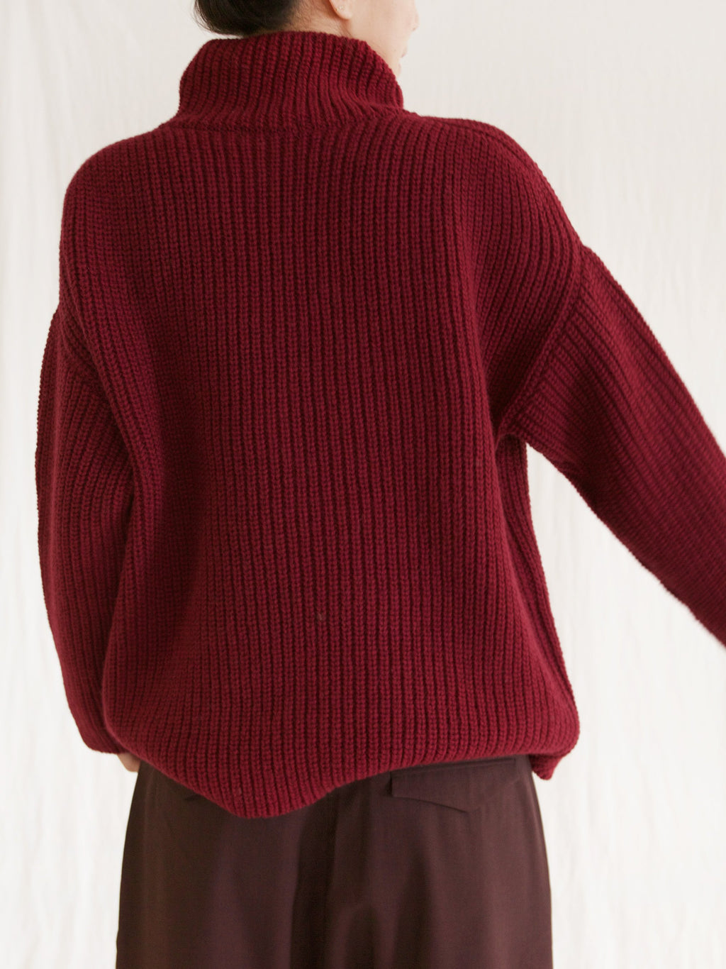 Namu Shop - Ichi Antiquites Wool Turtleneck Sweater