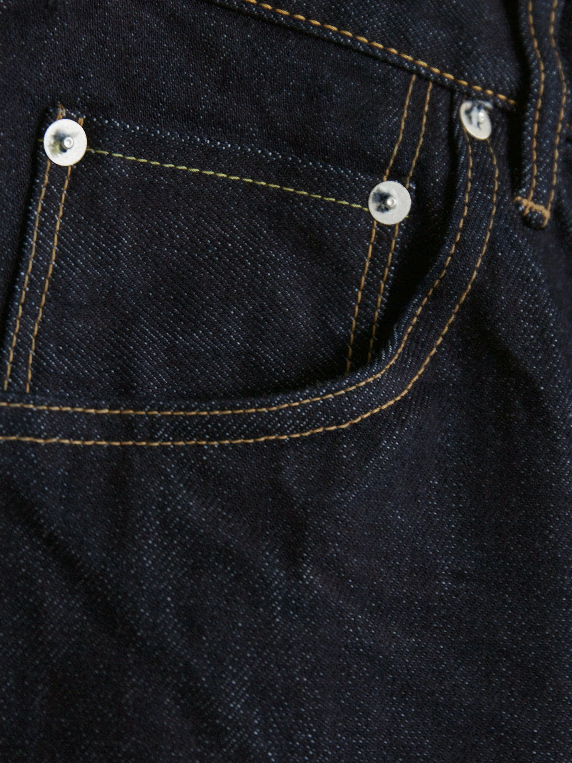 Namu Shop - Hatski Wide Tapered Denim - One Wash