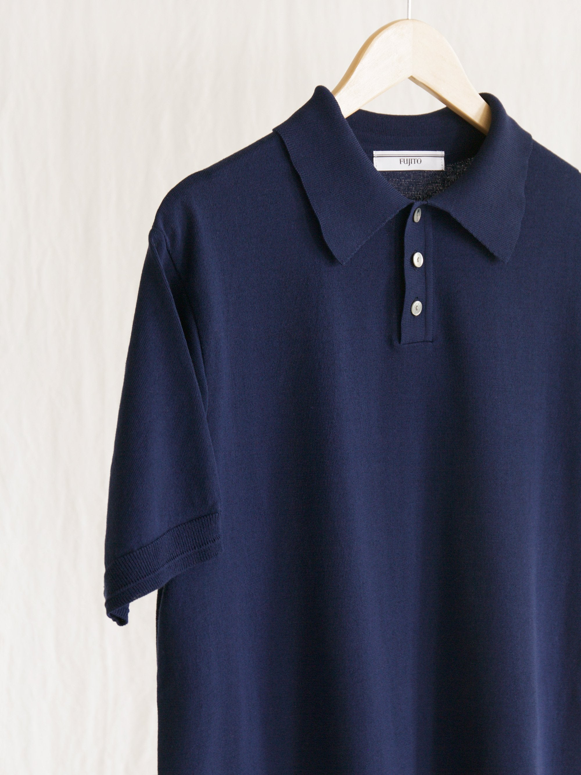 Namu Shop - Fujito Knit Polo Shirt