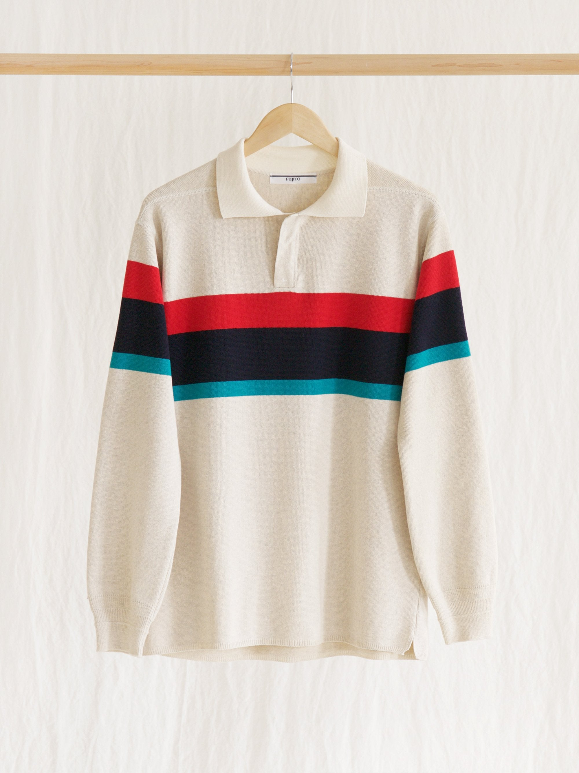 Namu Shop - Fujito Rugger Sweater - Border