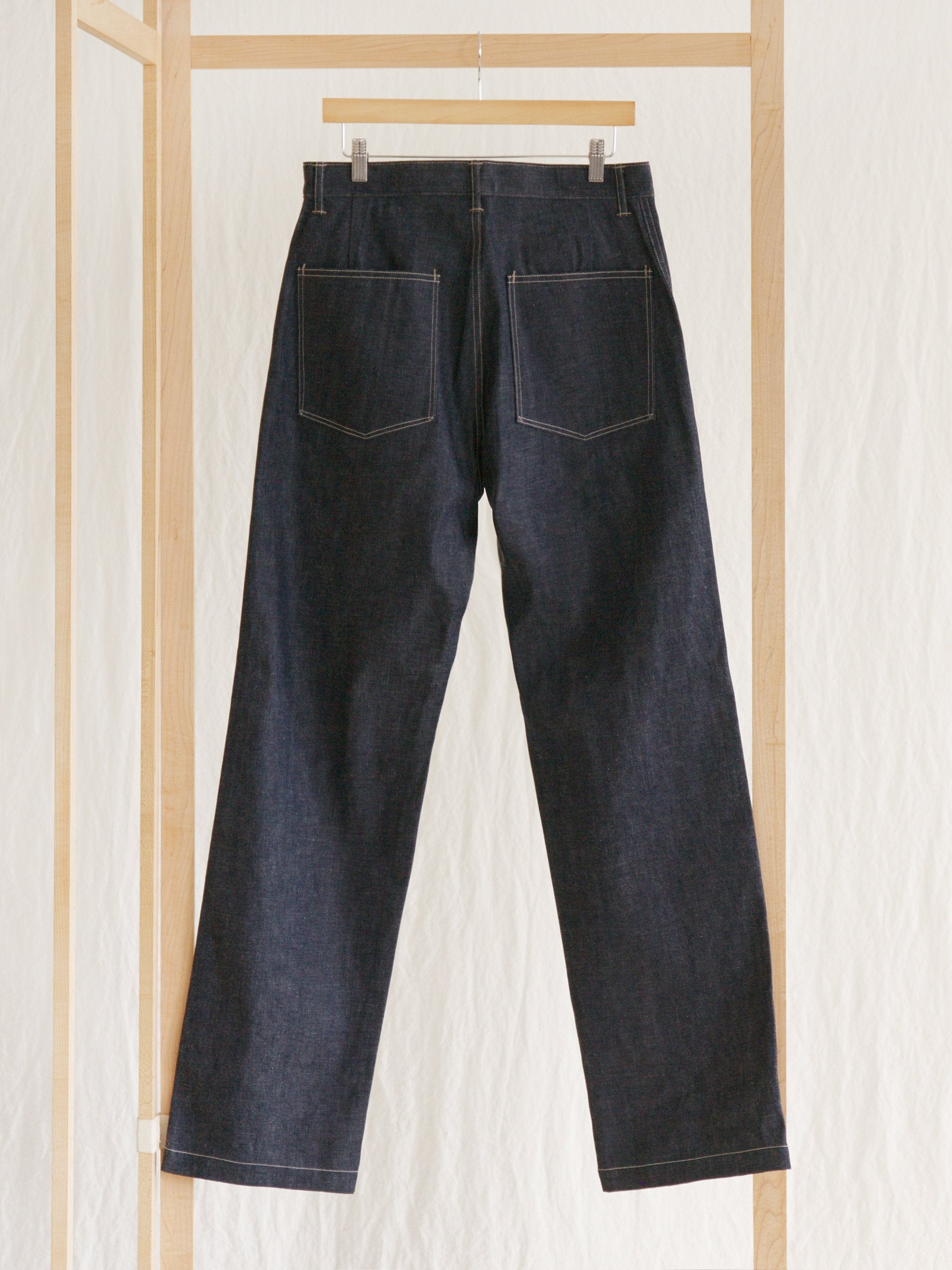 Namu Shop - A Vontade Military Denim Trousers