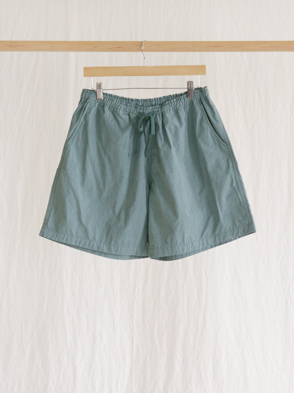 Namu Shop - Maillot Double Cloth Beach Shorts - Sage Green
