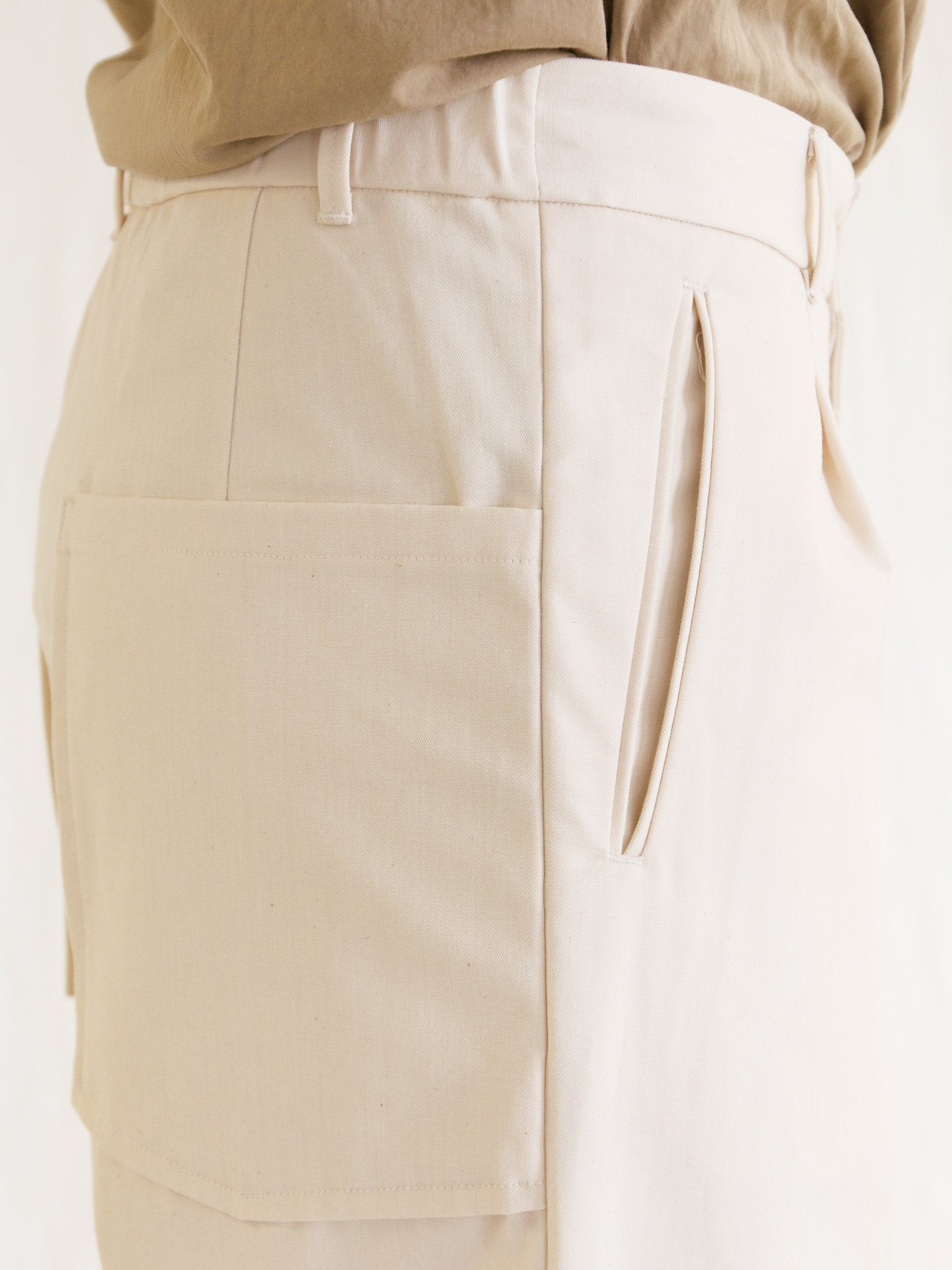 Namu Shop - A Vontade 1 Tuck Atelier Easy Pants