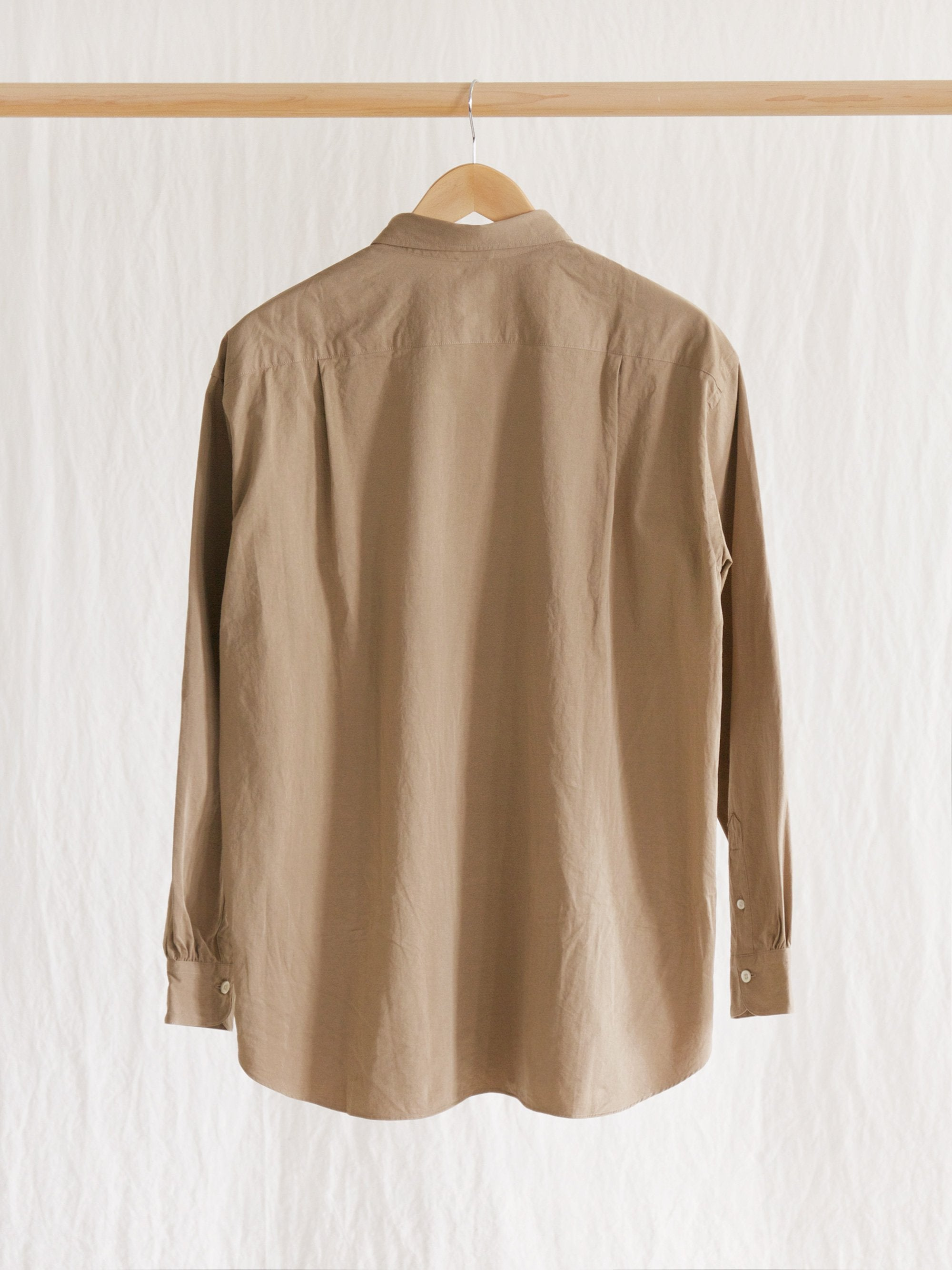 Namu Shop - Maillot Mature Cotton Satin Shirt
