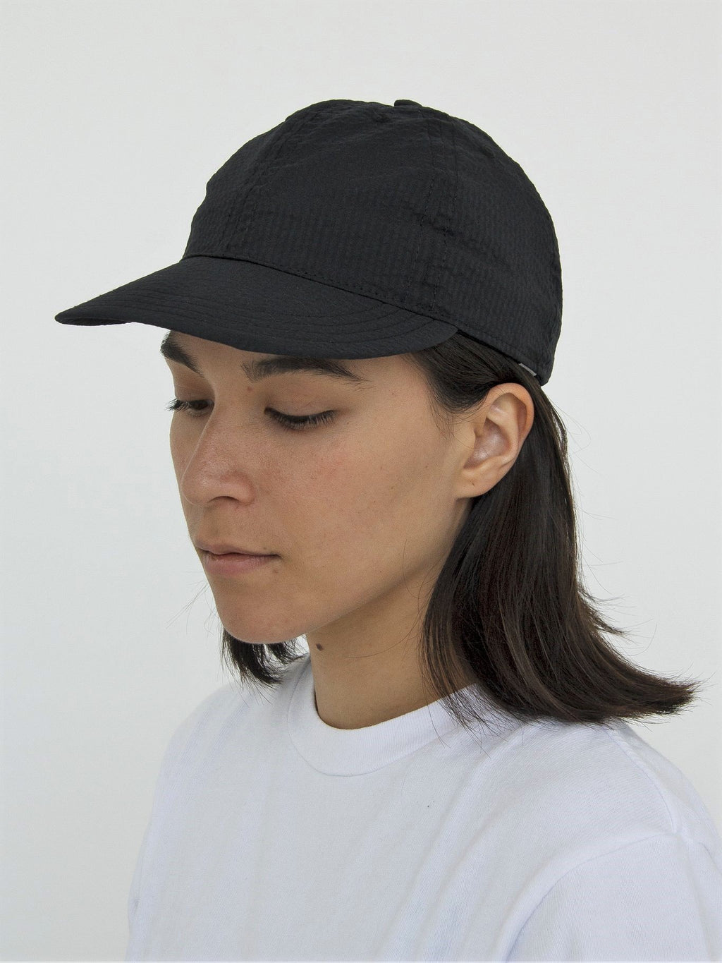 Namu Shop - paa Stretch Floppy Ball Cap -  Japanese Cotton Elastane Seersucker