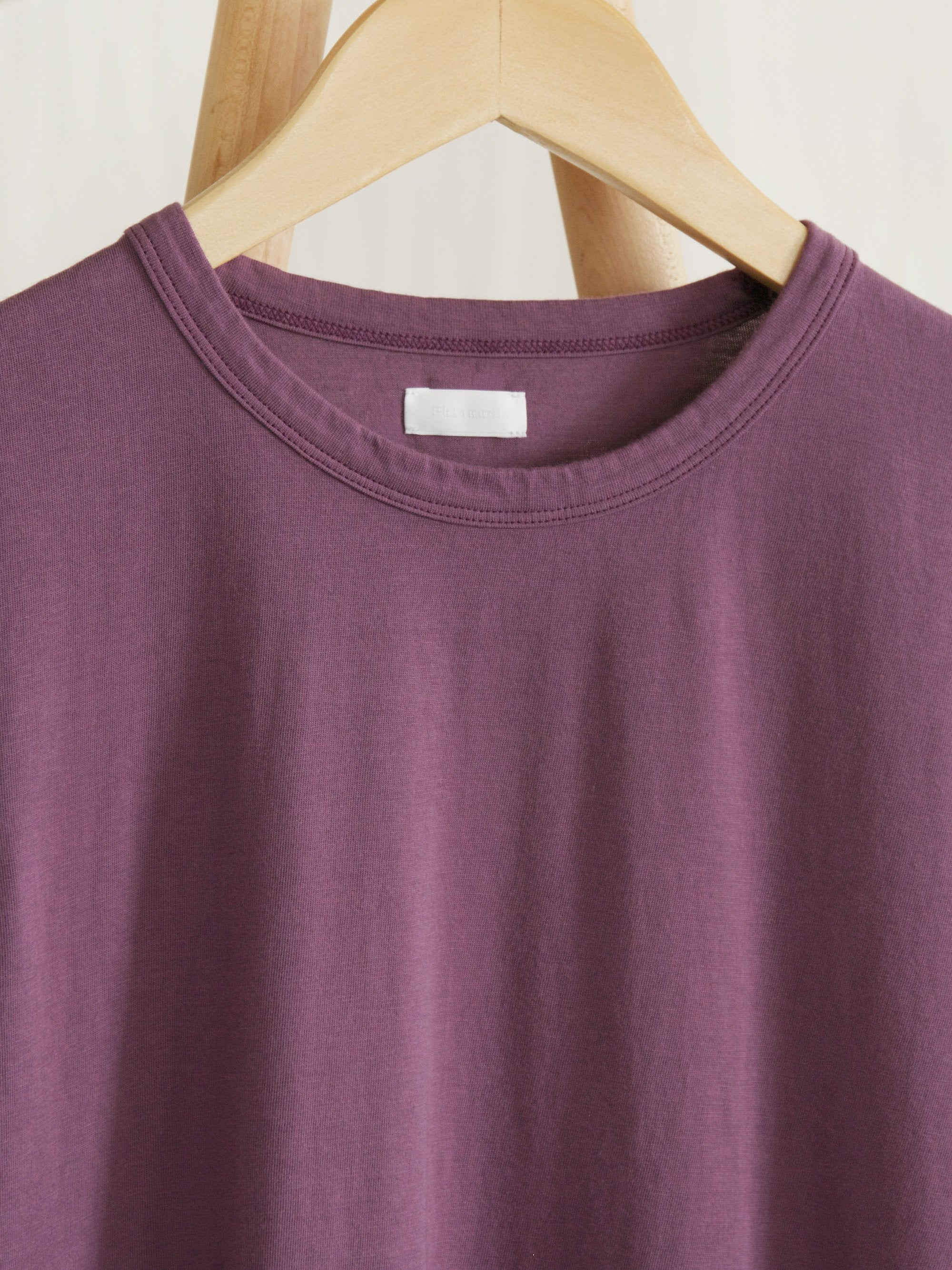 Namu Shop - Phlannel Light Suvin Cotton T-Shirt - Lavender (Women's)