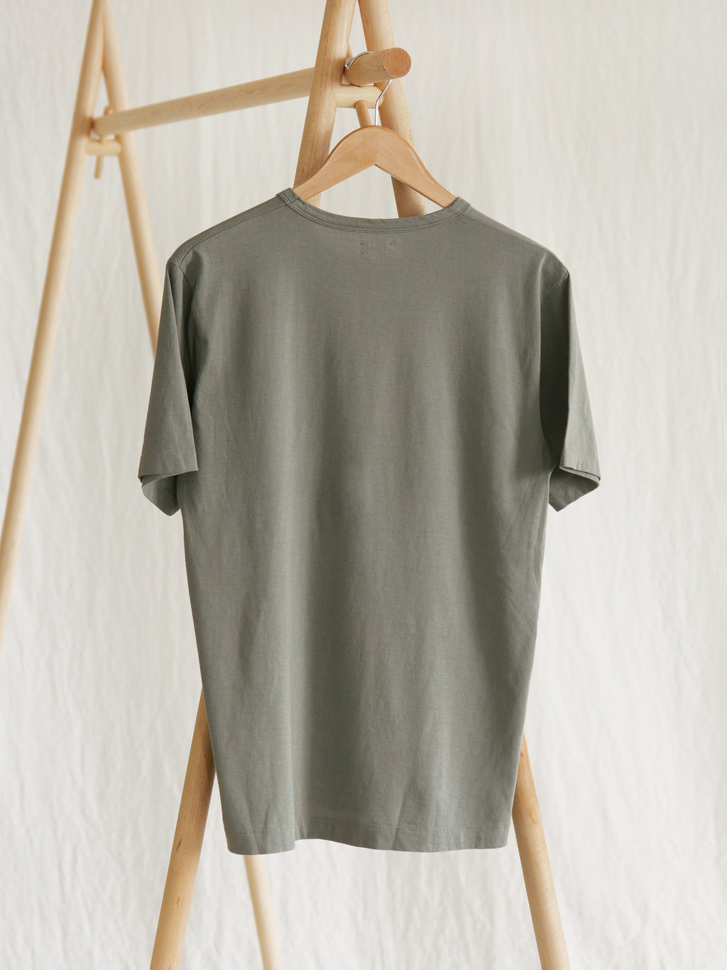 Namu Shop - Phlannel Light Suvin Cotton T-Shirt - Leaf Green