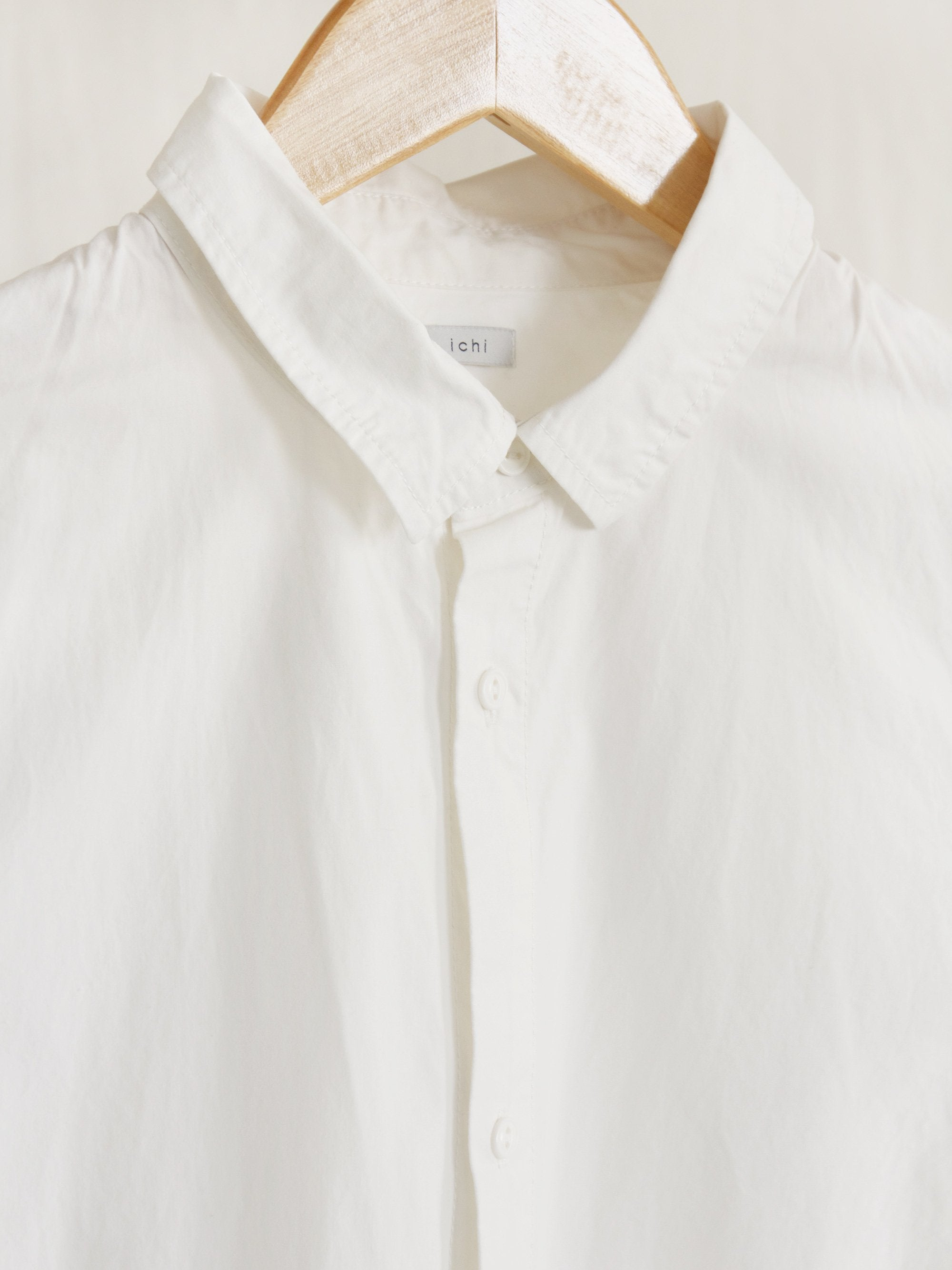 Namu Shop - Ichi Antiquites Shirt Dress - White