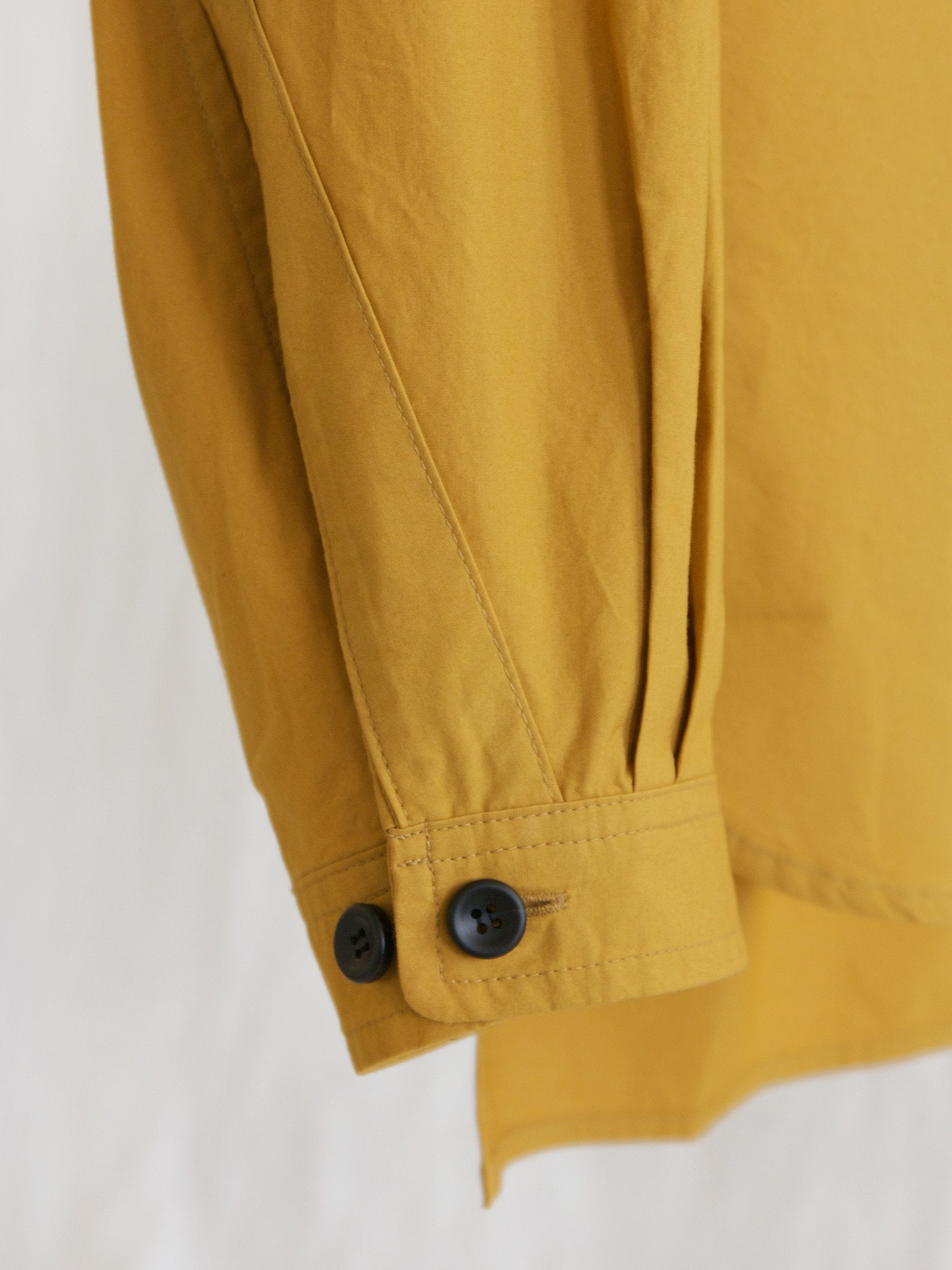 Namu Shop - Document The Document Set Up Shirt - Camel Yellow