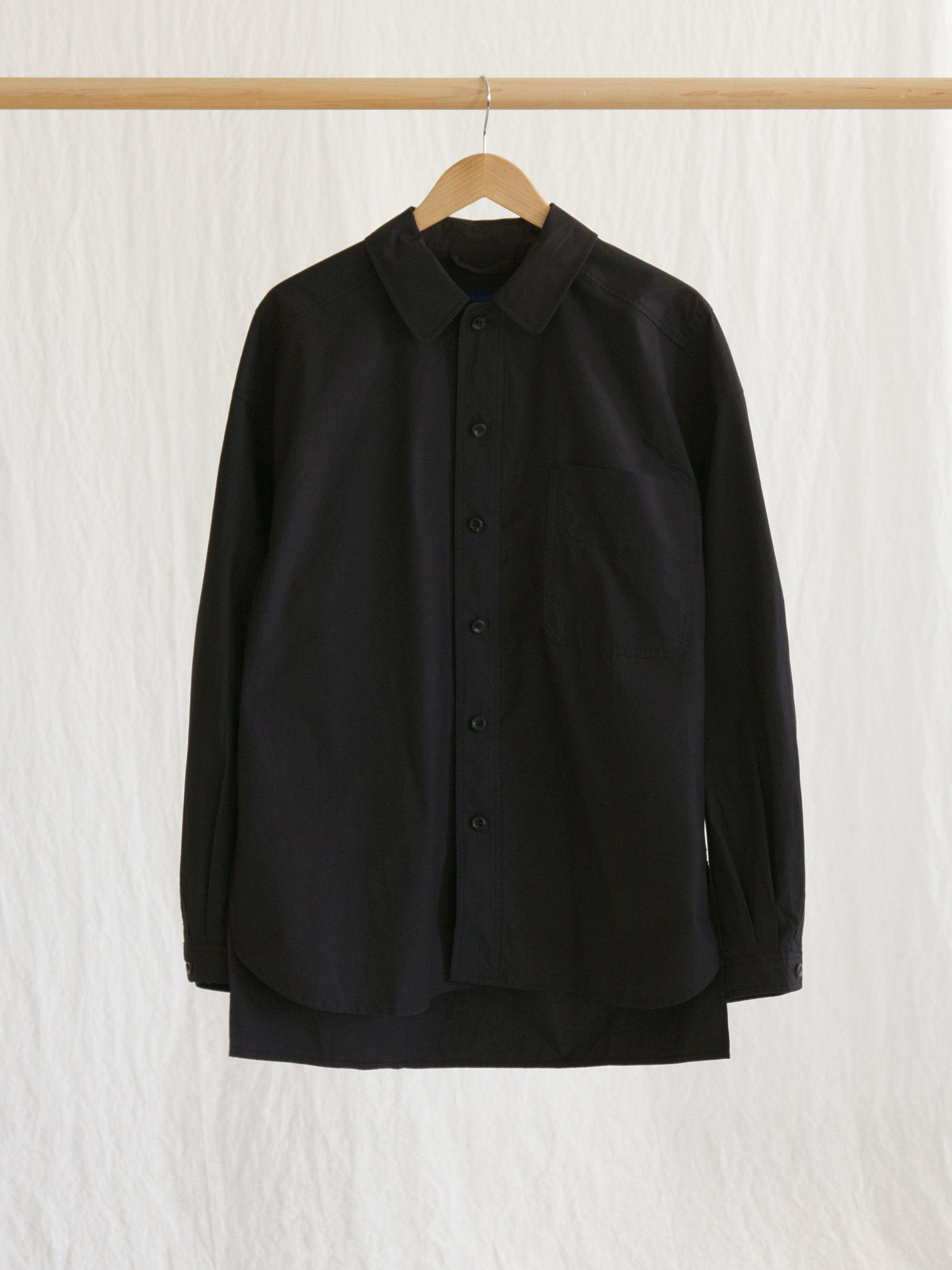 Namu Shop - Document The Document Set Up Shirt - Dark Navy/Black