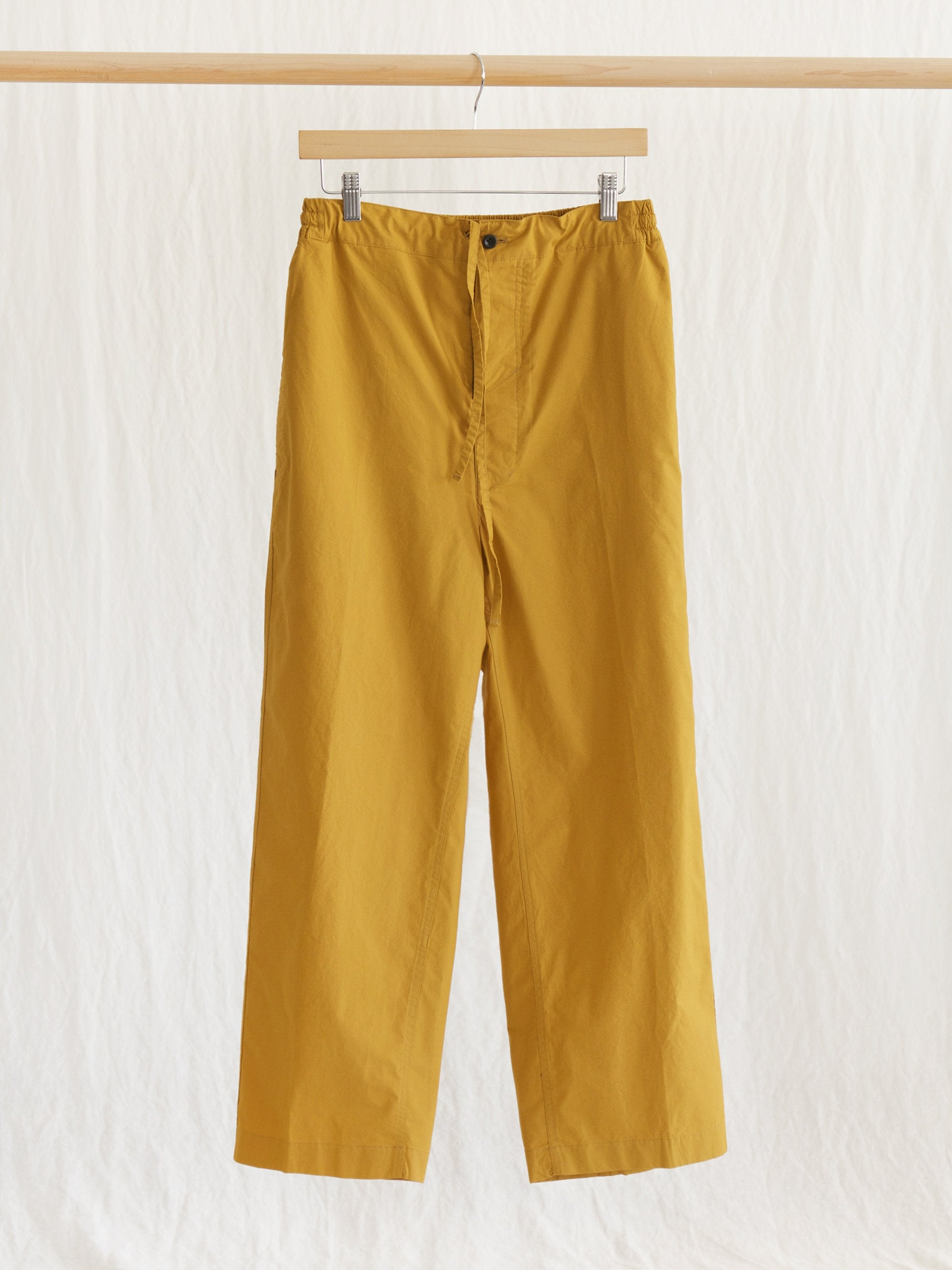 Namu Shop - Document Cotton Wide Pants