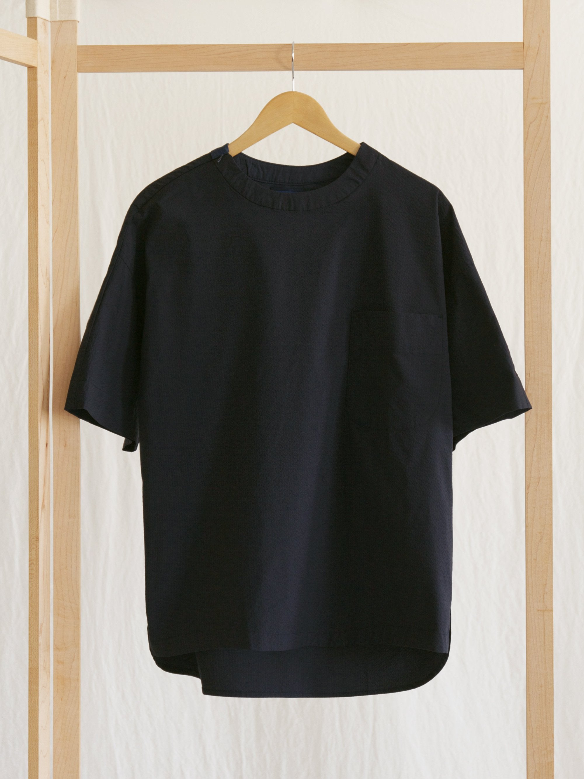 Namu Shop - Document Seersucker Coolmax Over Shirt