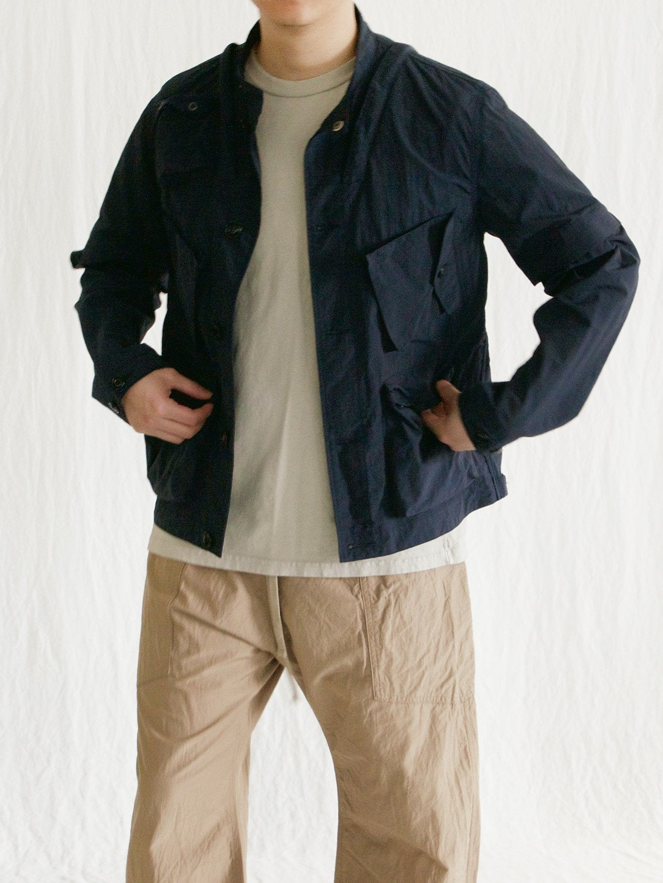 Namu Shop - Eastlogue C-1 Jumper - Navy Ripstop