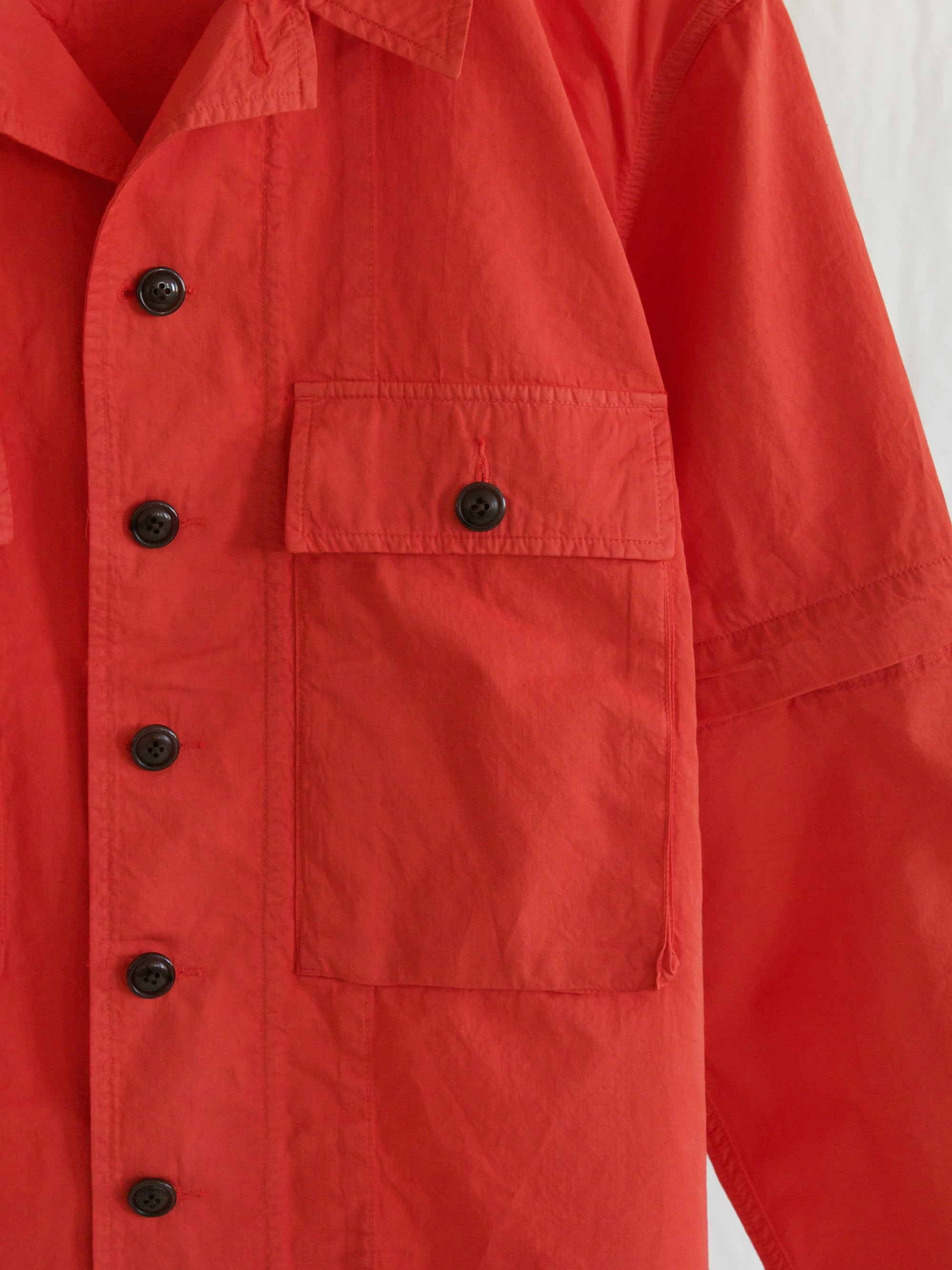 Namu Shop - Eastlogue KW M43 Jacket - Dyed Red