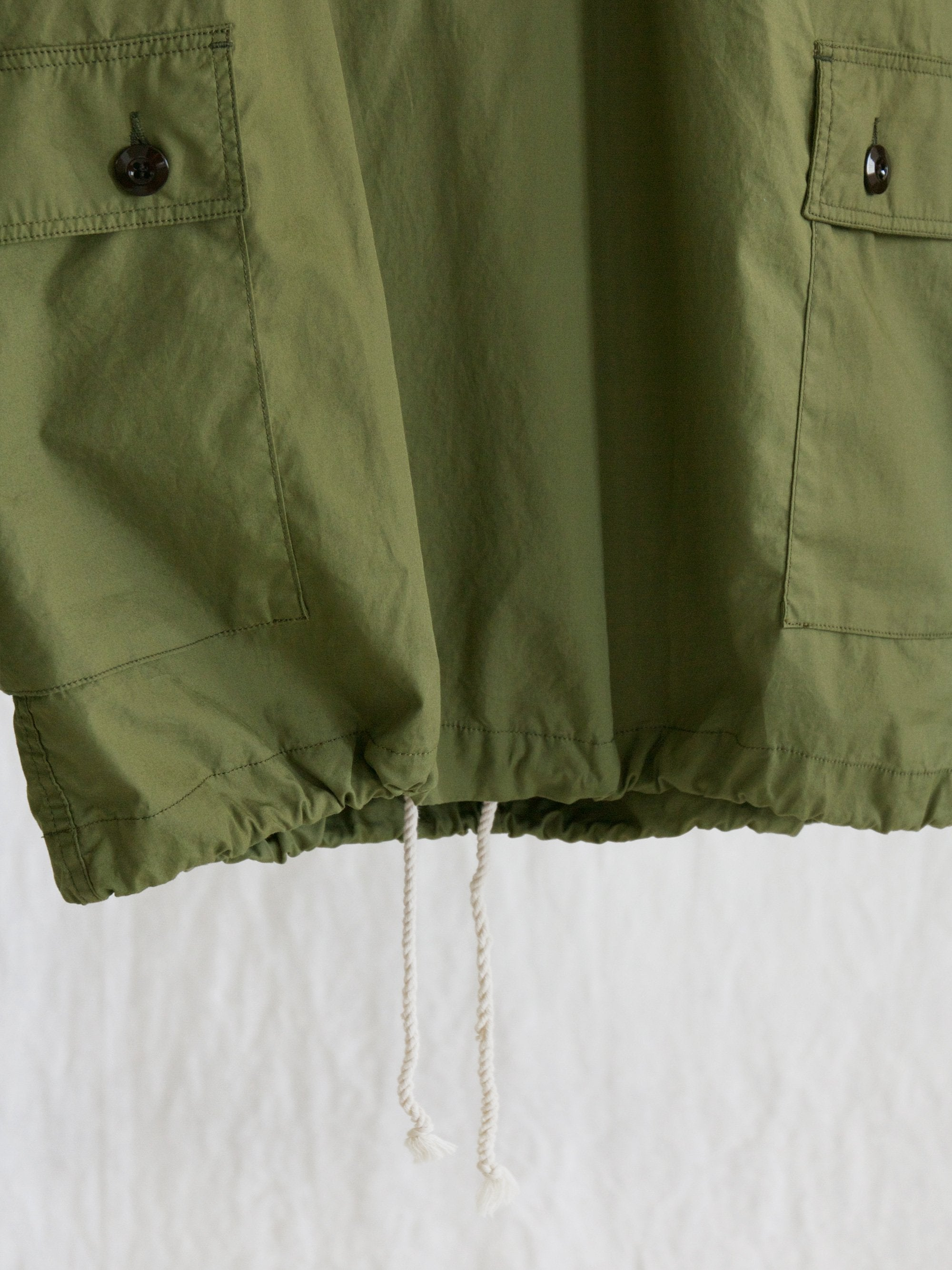 Namu Shop - Eastlogue Hooded Shirt - Olive