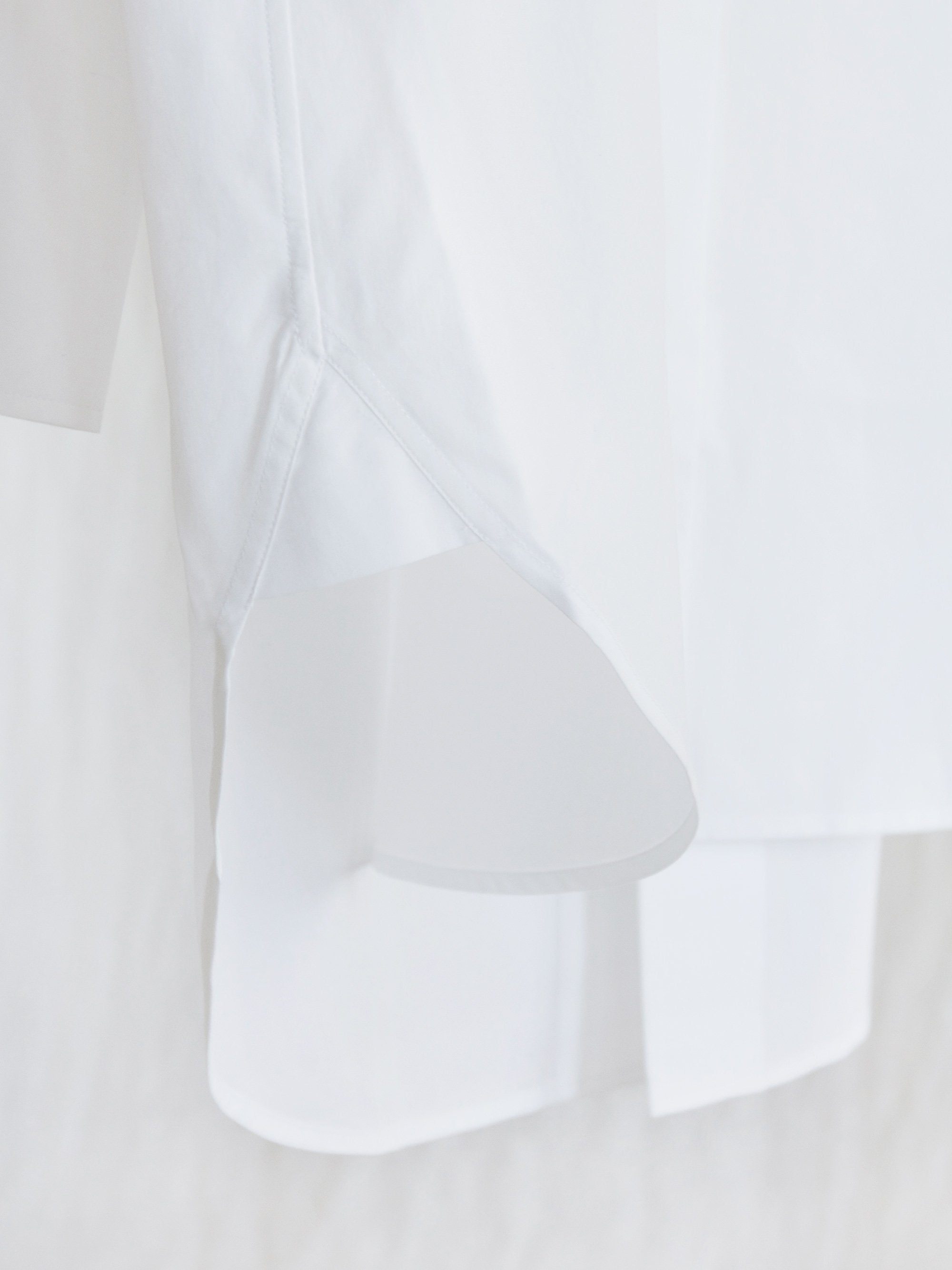 Namu Shop - Studio Nicholson Double Split Shirt - White