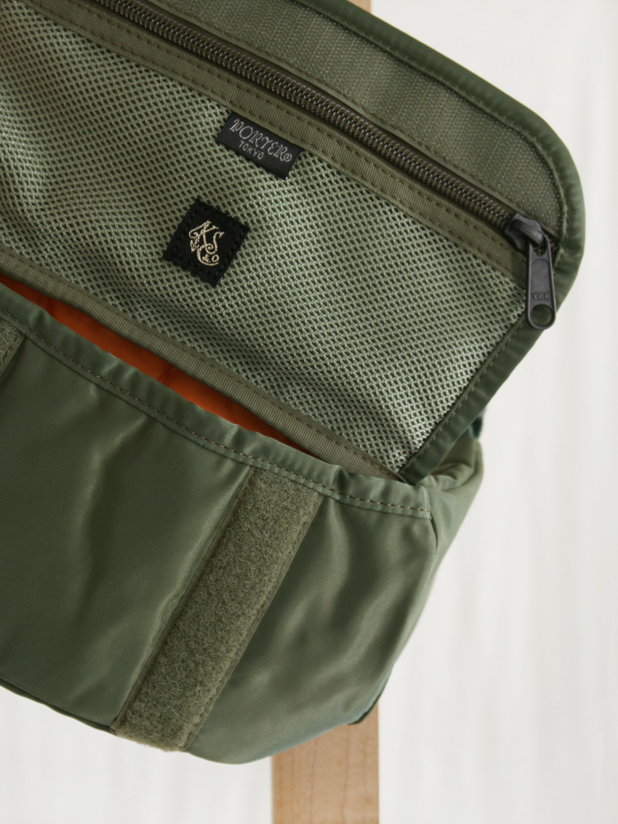 Namu Shop - Kaptain Sunshine Travellers Fanny Bag - Airforce Green