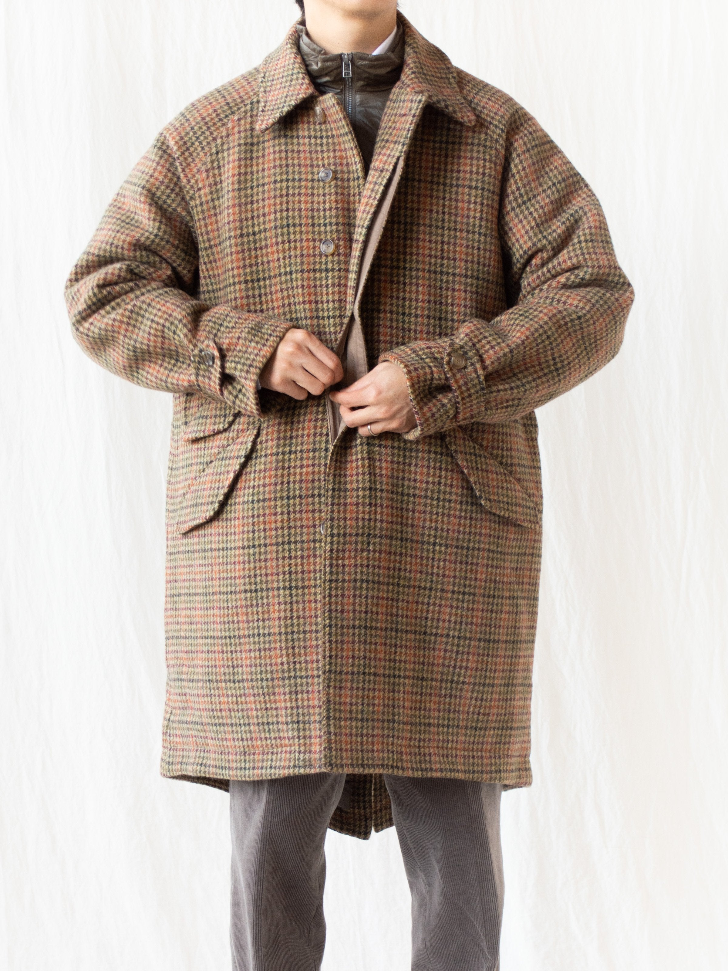Namu Shop - Eastlogue Field Coat - Multi Gunclub Check