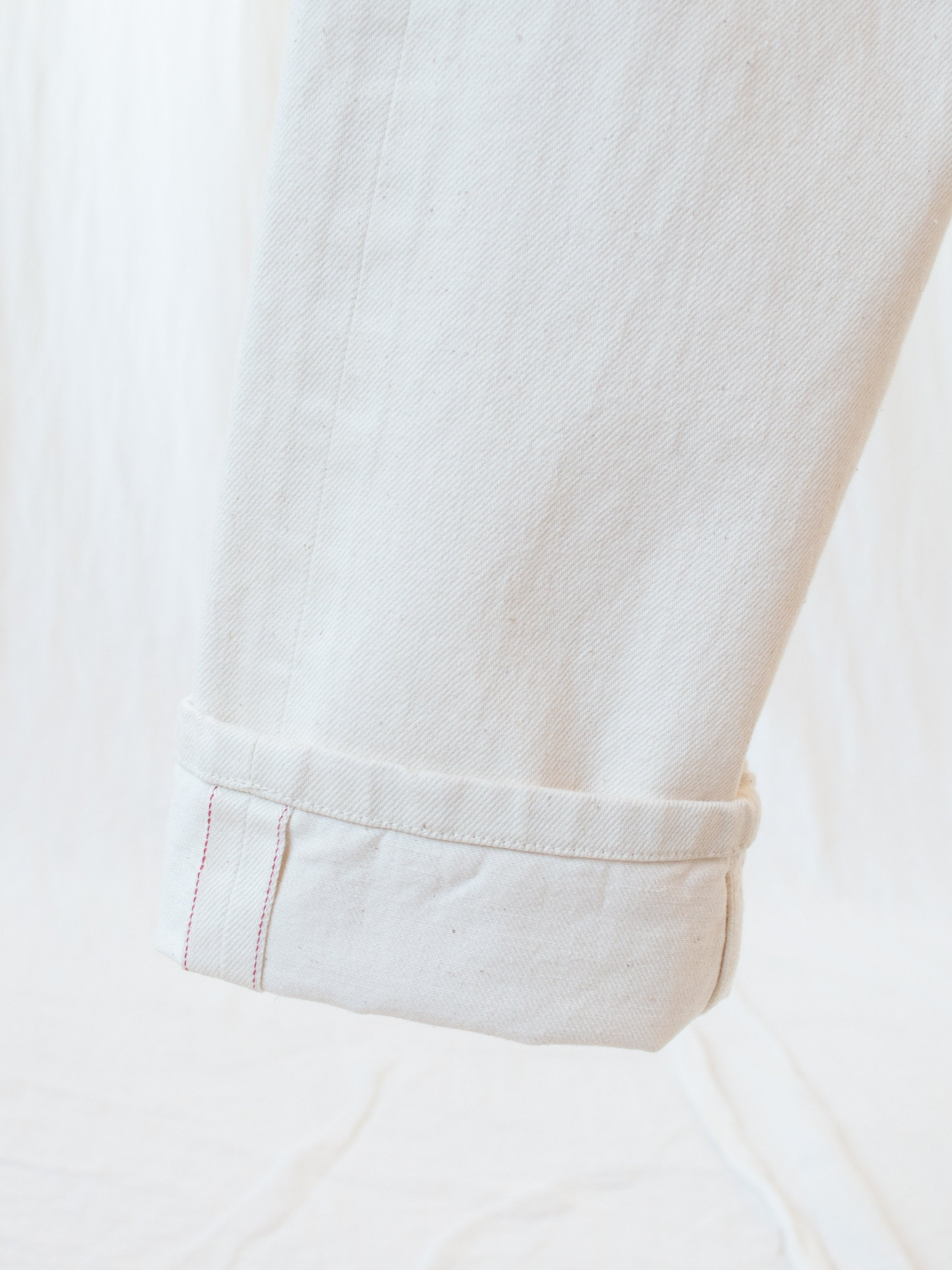 Namu Shop - Document White Cotton Denim
