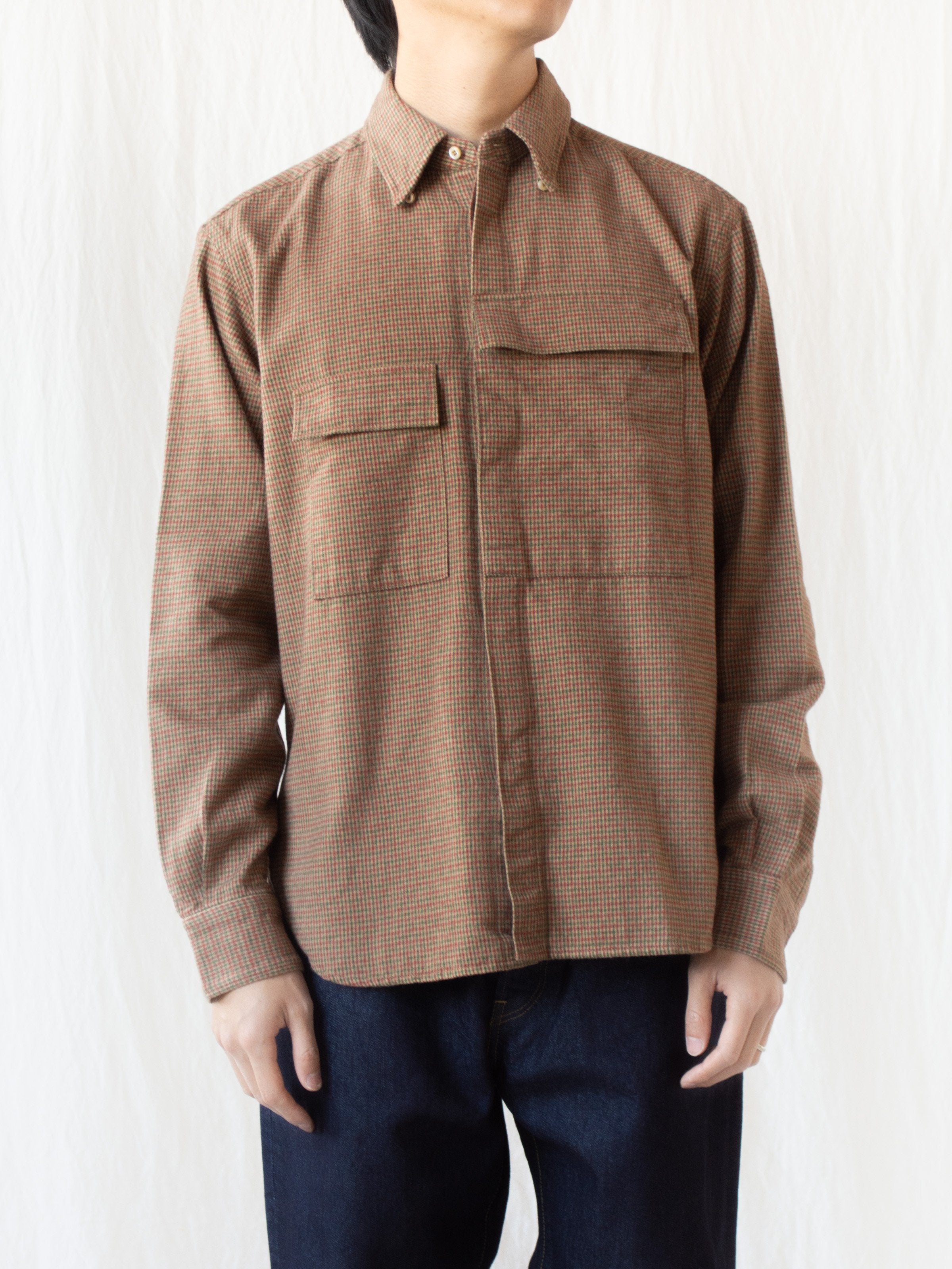 CBA Shirt - Brown Gunclub Check