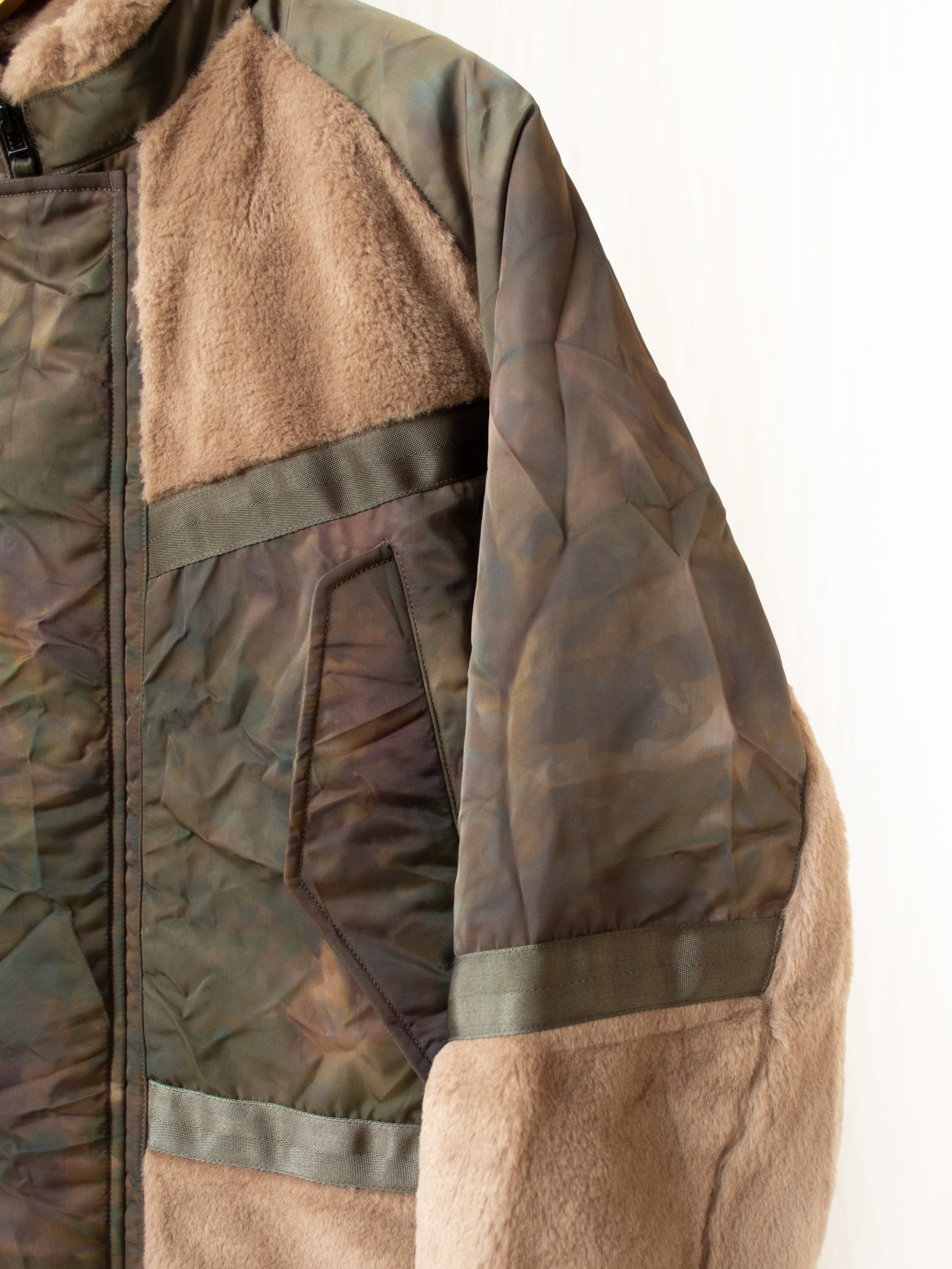 Shearing Flight Jumper - Olive Stain