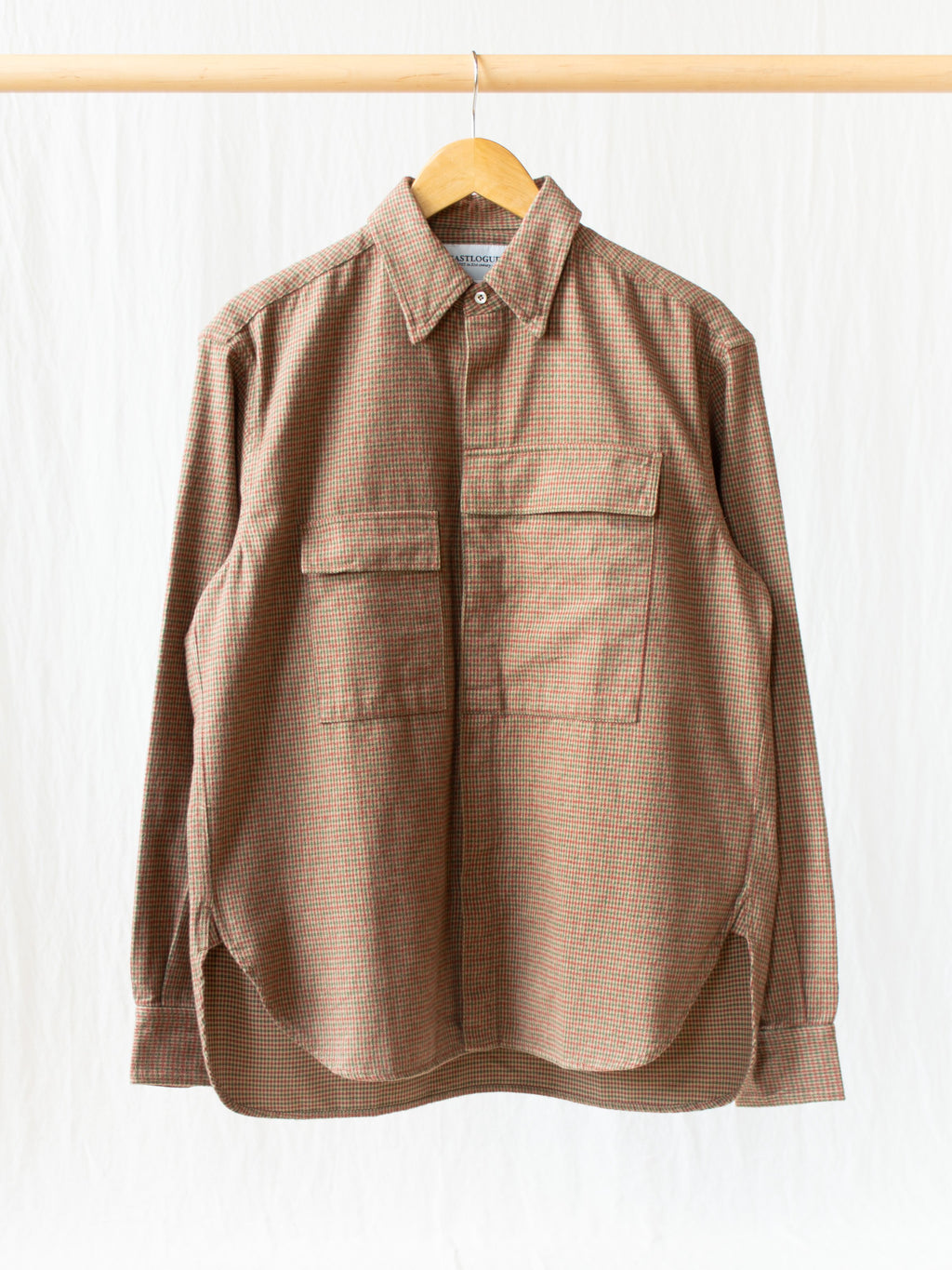 Namu Shop - Eastlogue CBA Shirt - Brown Gunclub Check