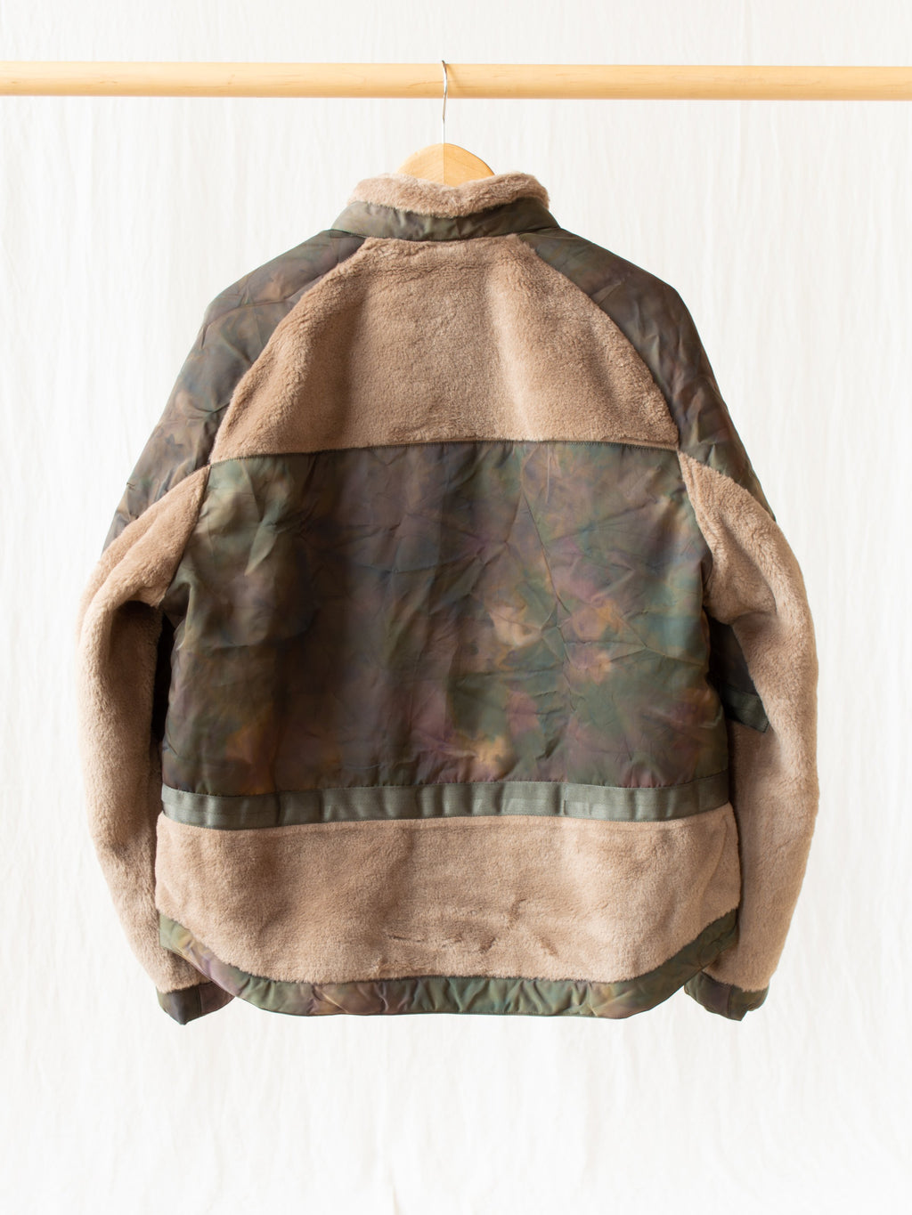 Namu Shop - Eastlogue Shearing Flight Jumper - Olive Stain