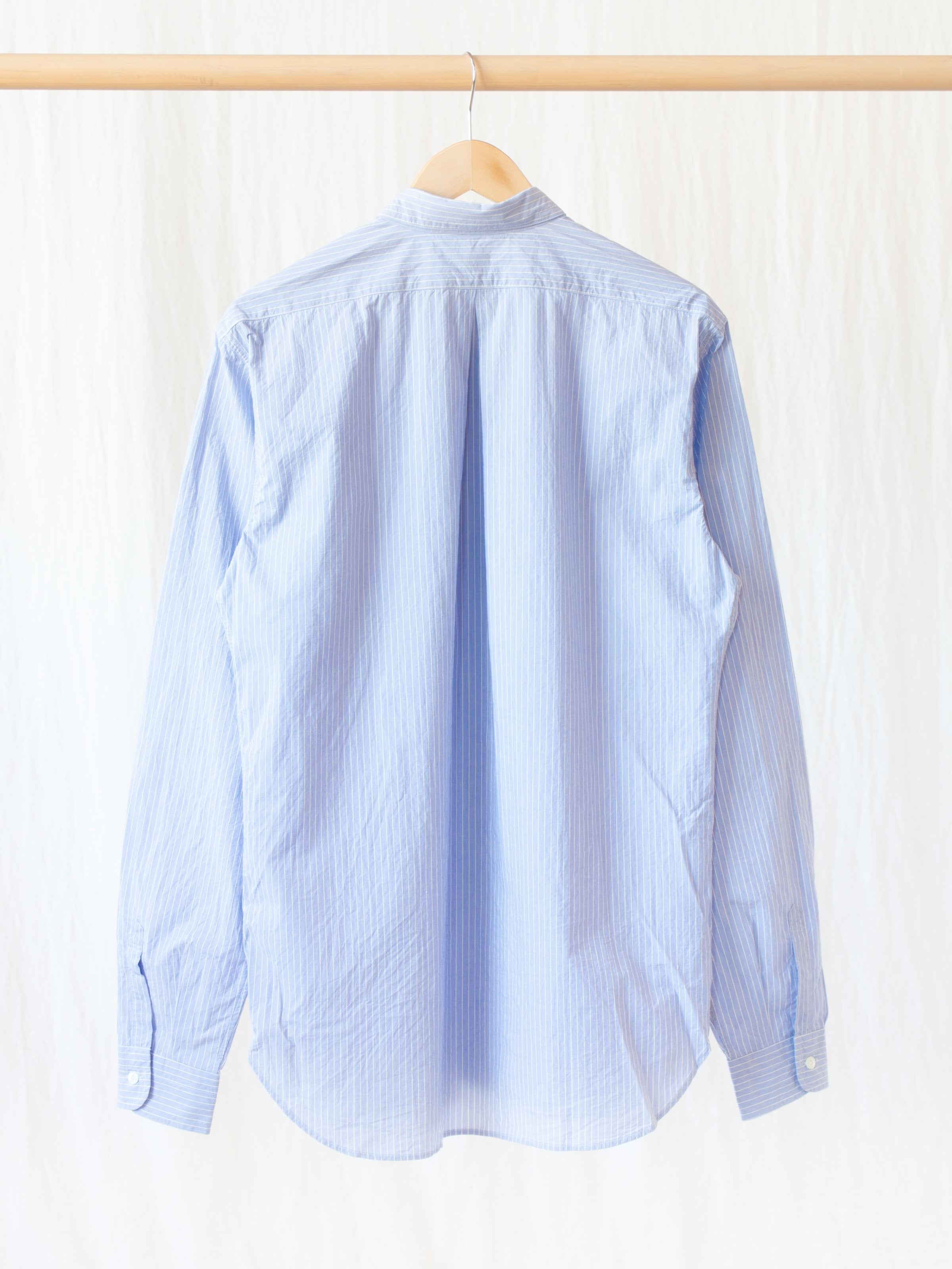 Namu Shop - Fujito Standard Shirt - Blue Stripe