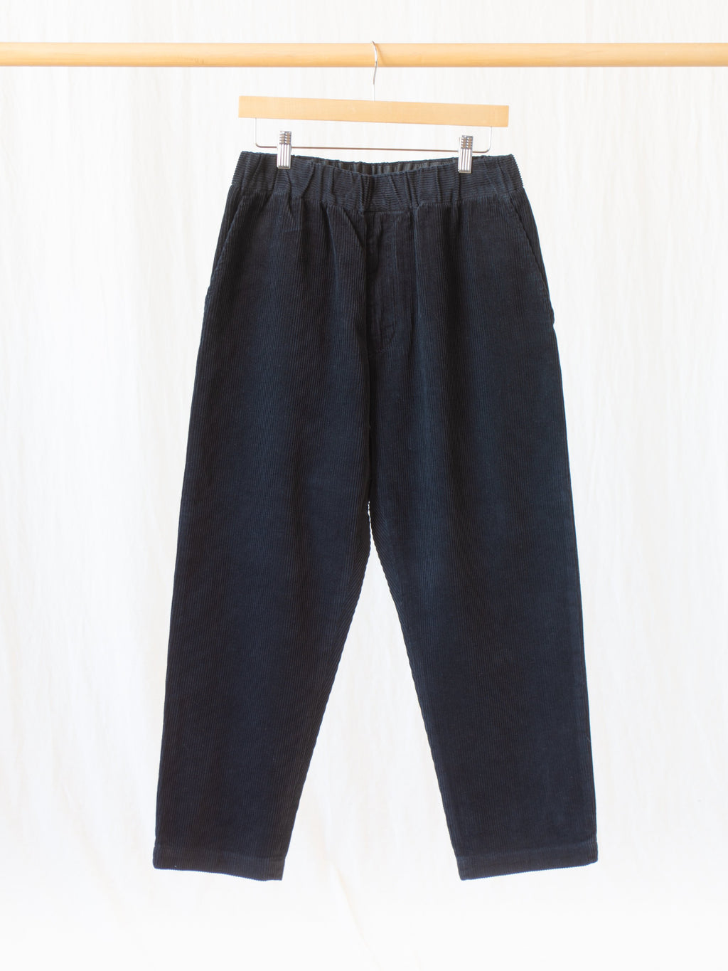 Namu Shop - Fujito Corduroy Easy Pants - Black