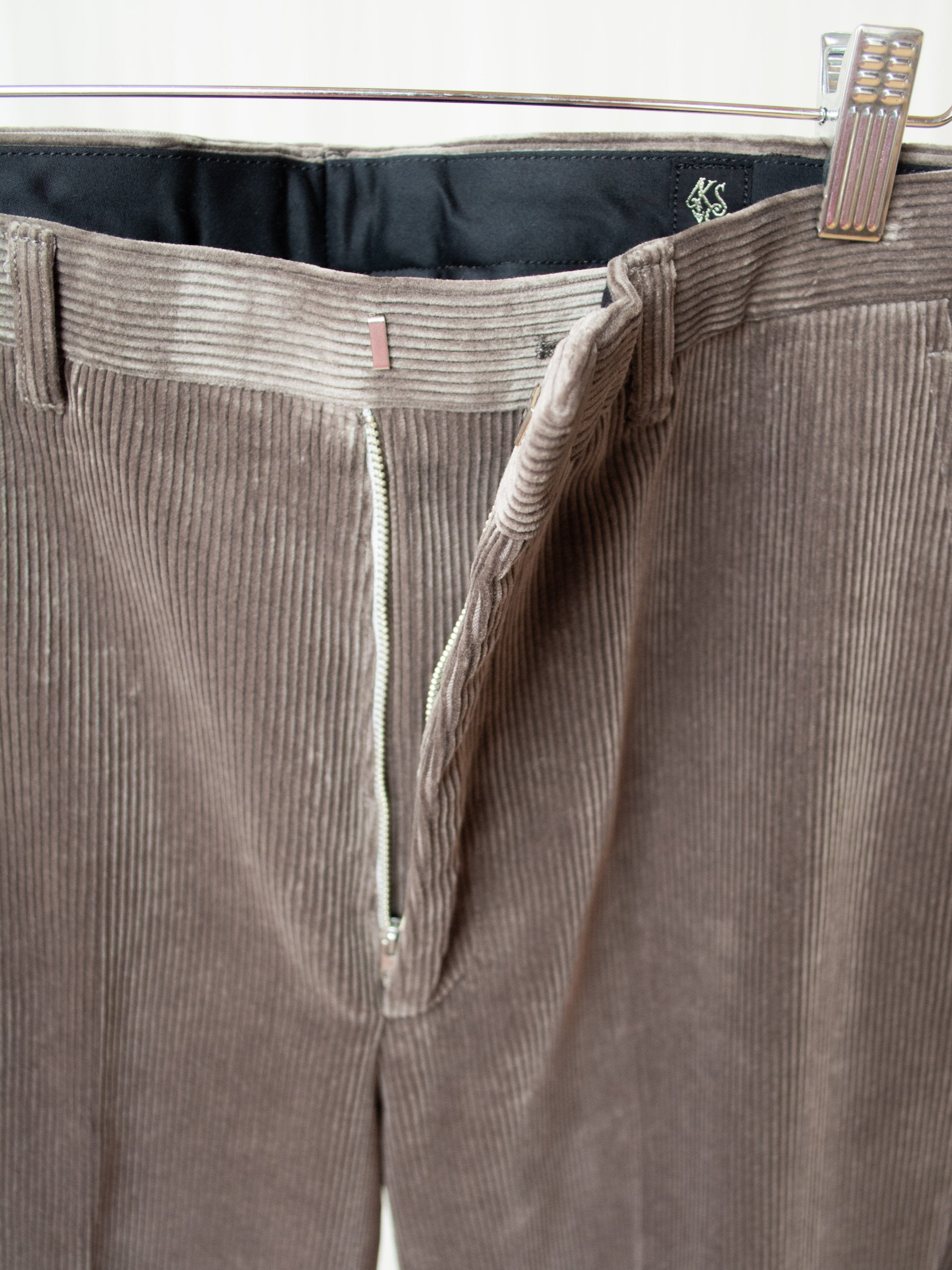 Corduroy Trousers - Gray