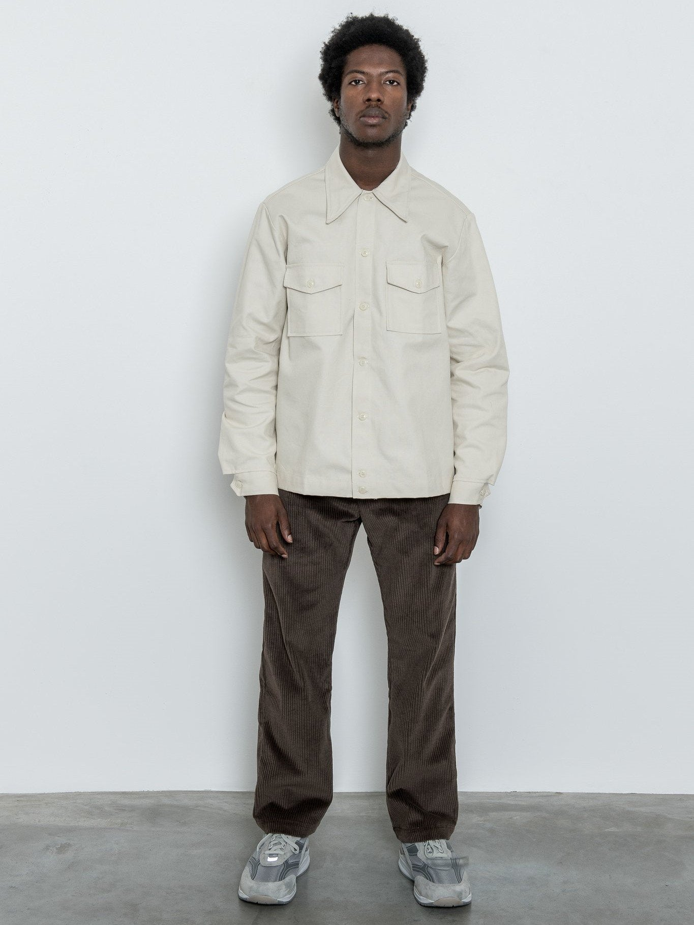 Namu Shop - paa Rodeo Shirt - Natural