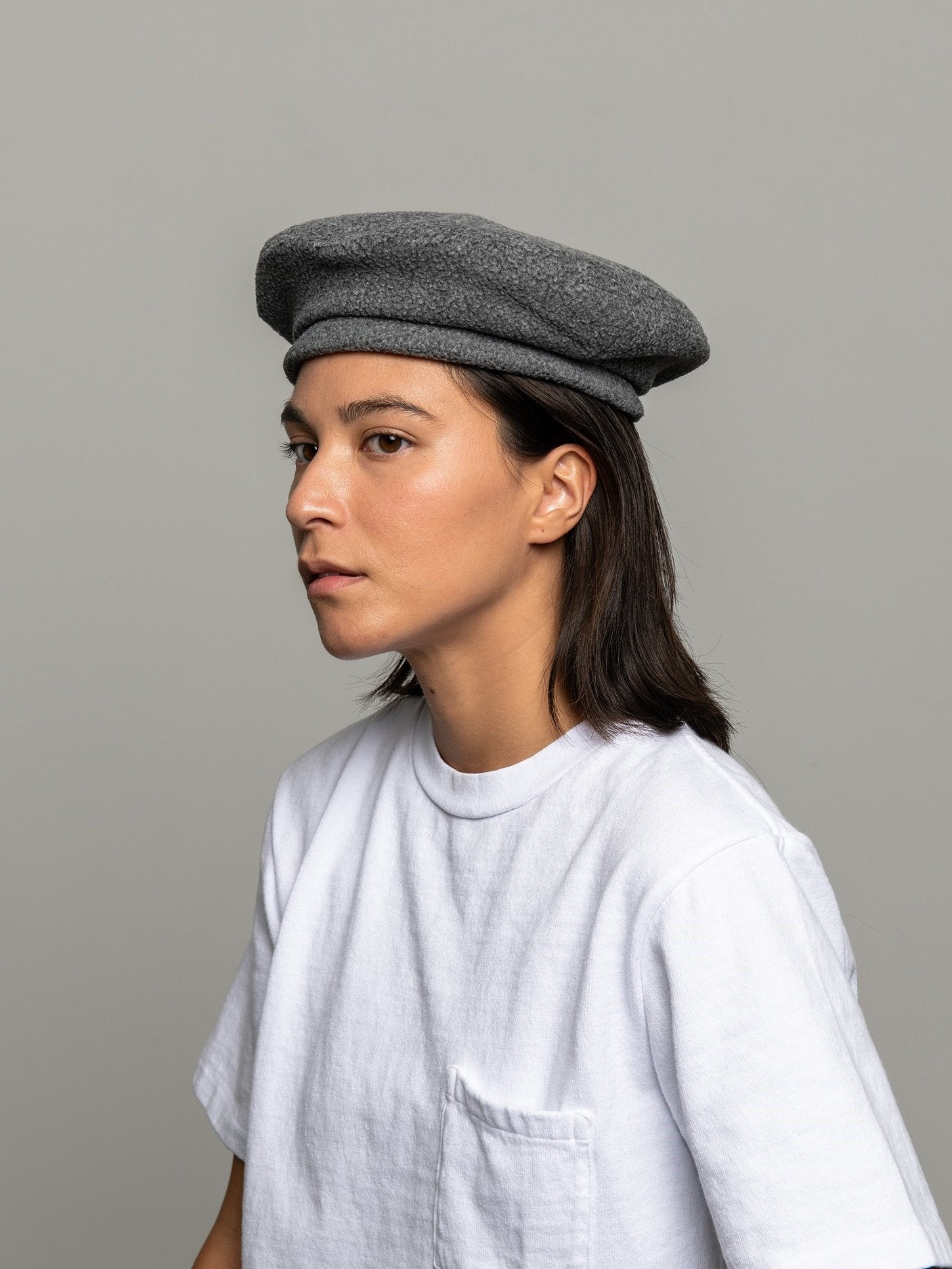 Namu Shop - paa Beret - Charcoal