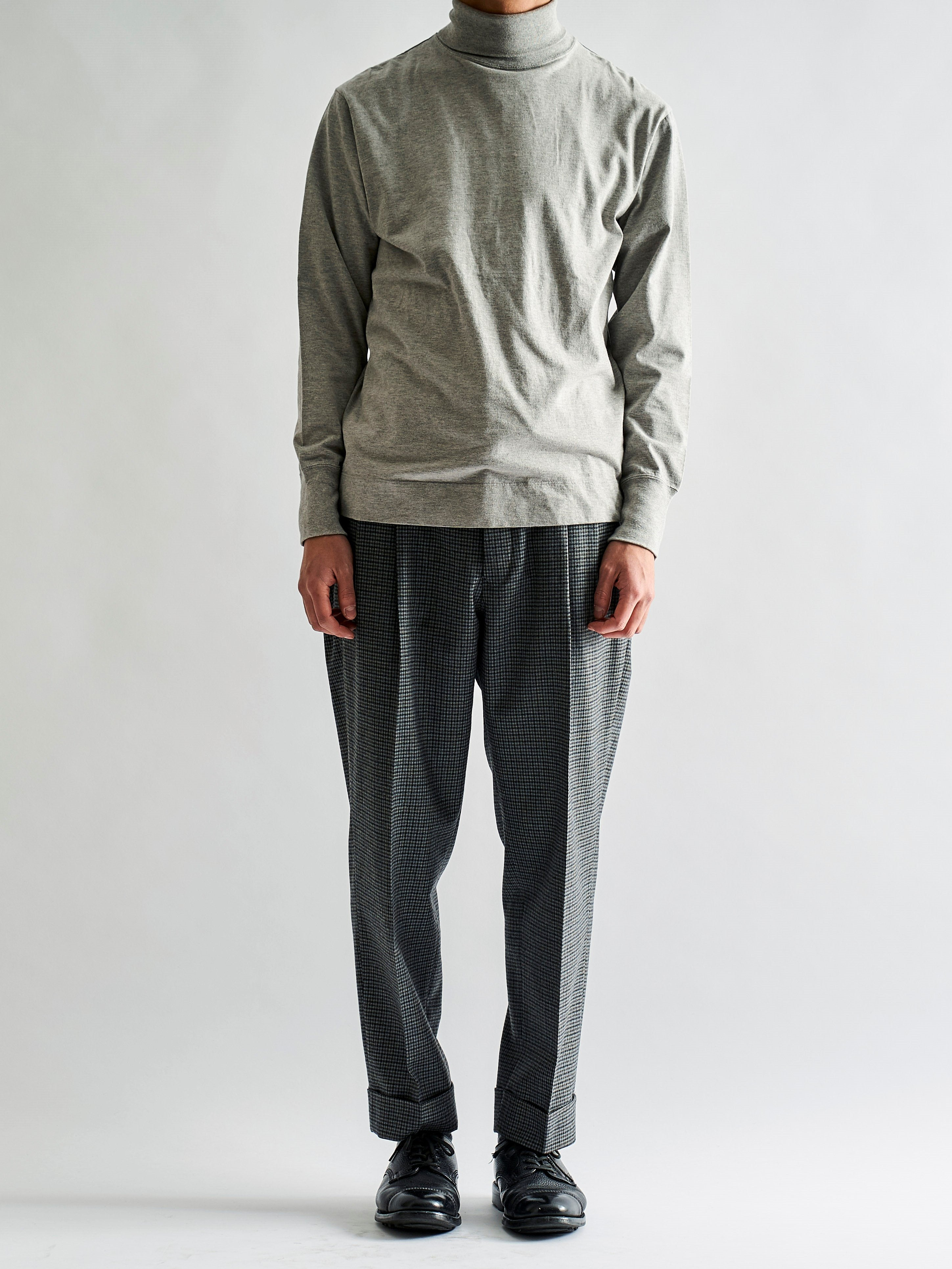 Namu Shop - Phlannel Winter Check Tapered Trousers (Men's)