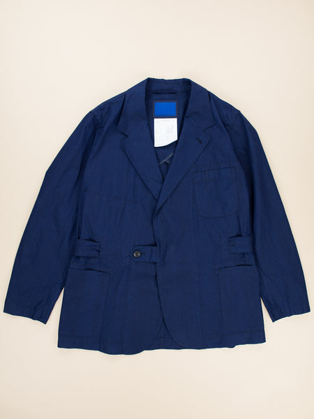 Namu Shop - Document Indigo Cotton Lab Jacket