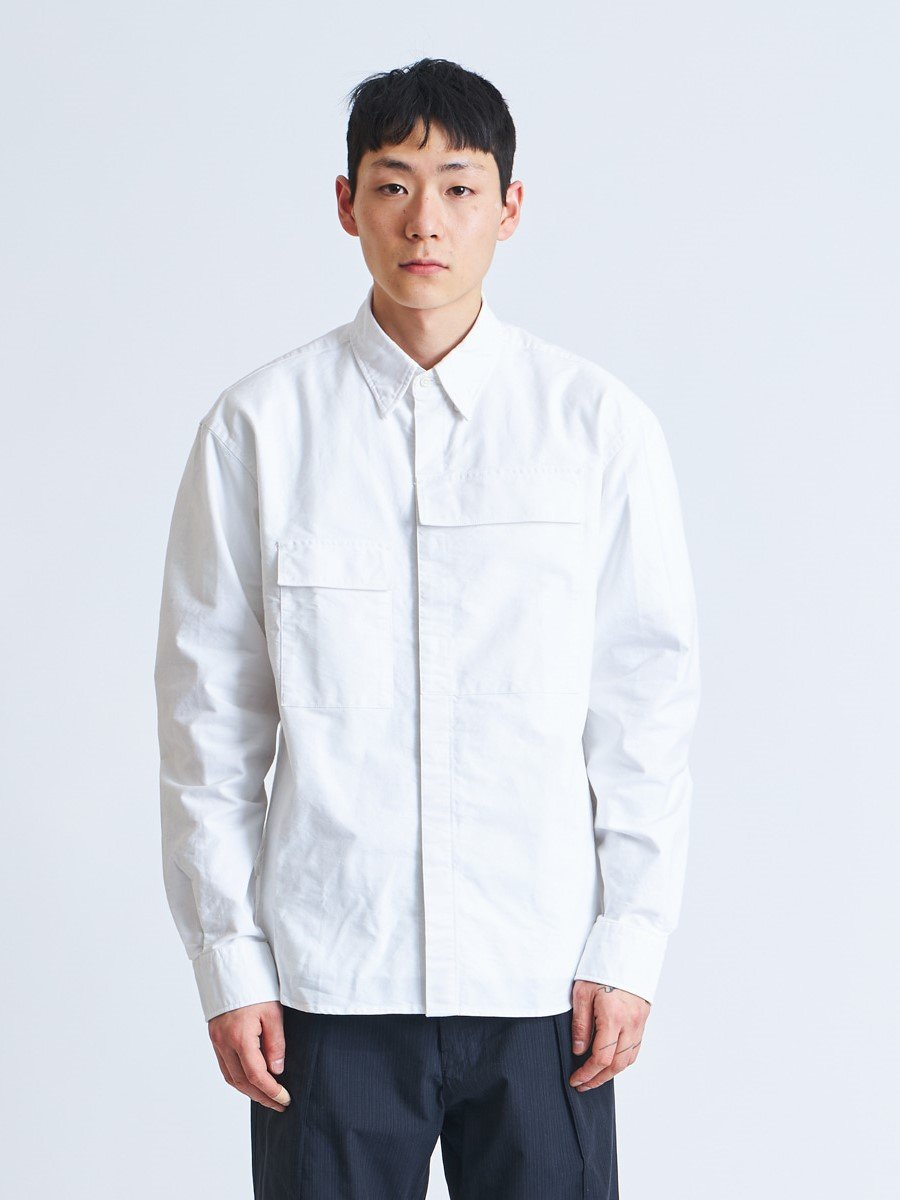 Namu Shop - Eastlogue CBA Shirt - White Oxford