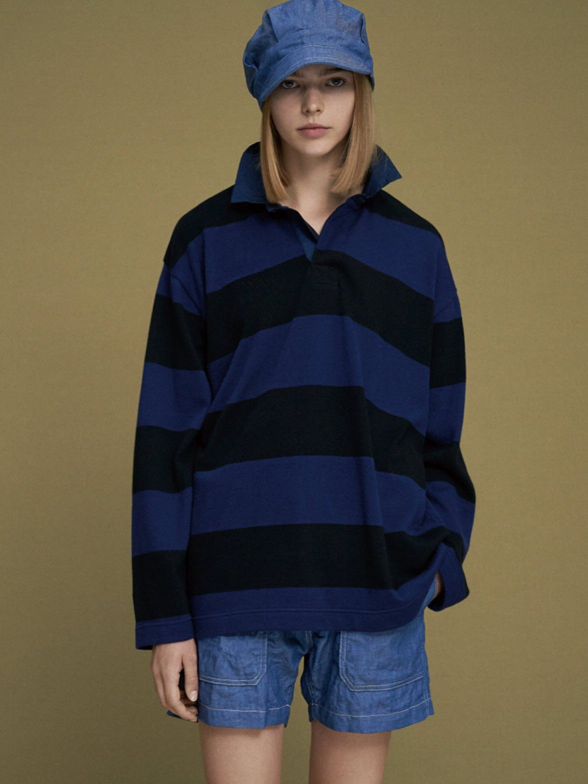 Namu Shop - ts(s) Border Stripe Rugby Knit - Extra Soft Twistless Cotton