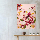 Blossom, Acrylic Painting by Mad Honey Studio