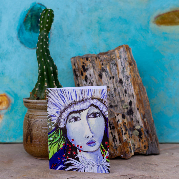 Goddess Notecards by Mad Honey Studio