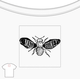 Mad Honey T-Shirt in White