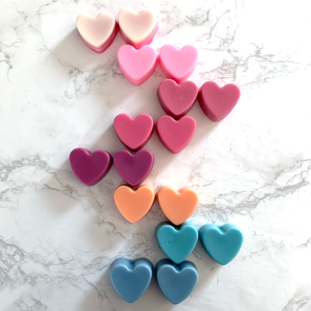 Wax Melt 2 Packs - Hearts