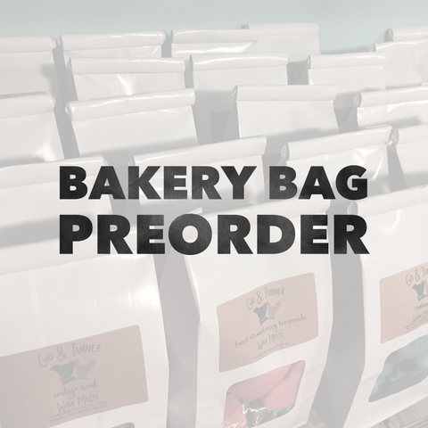 PREORDER | Wax Melt Bakery Bag