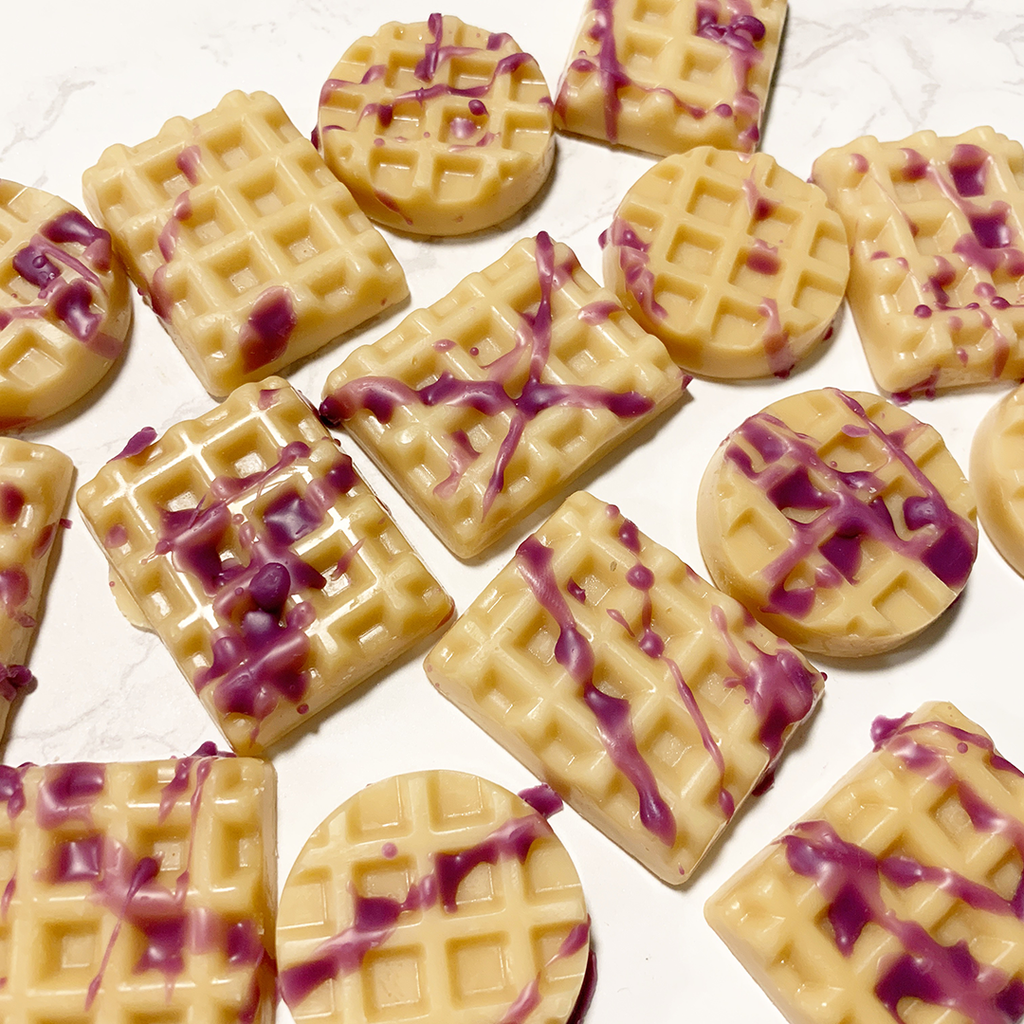 Purple Fox Waffles Wax Melts