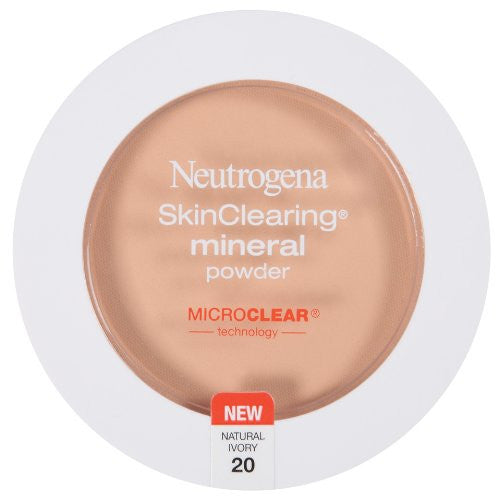 Neutrogena SkinClearing Mineral Powder, Natural Ivory 20