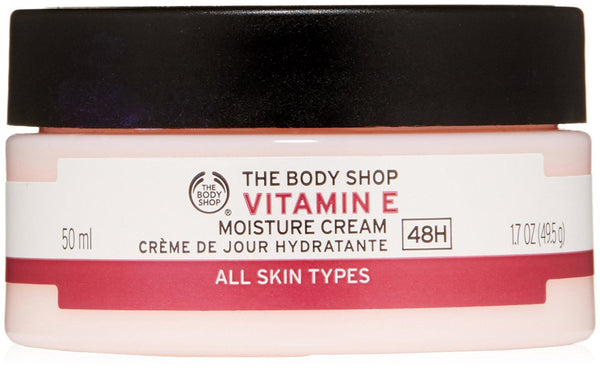The Body Shop Vitamin E Moisture Cream 50ml (Packaging May Vary)  The Body Shop