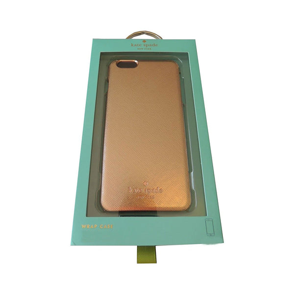 Kate Spade New York Wrap Case Saffiano Leather iPhone 6 (Gold)