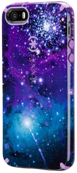Speck Products CandyShell Inked Case for iPhone SE/5/5S -- Galaxy Purple/Revolution Purple